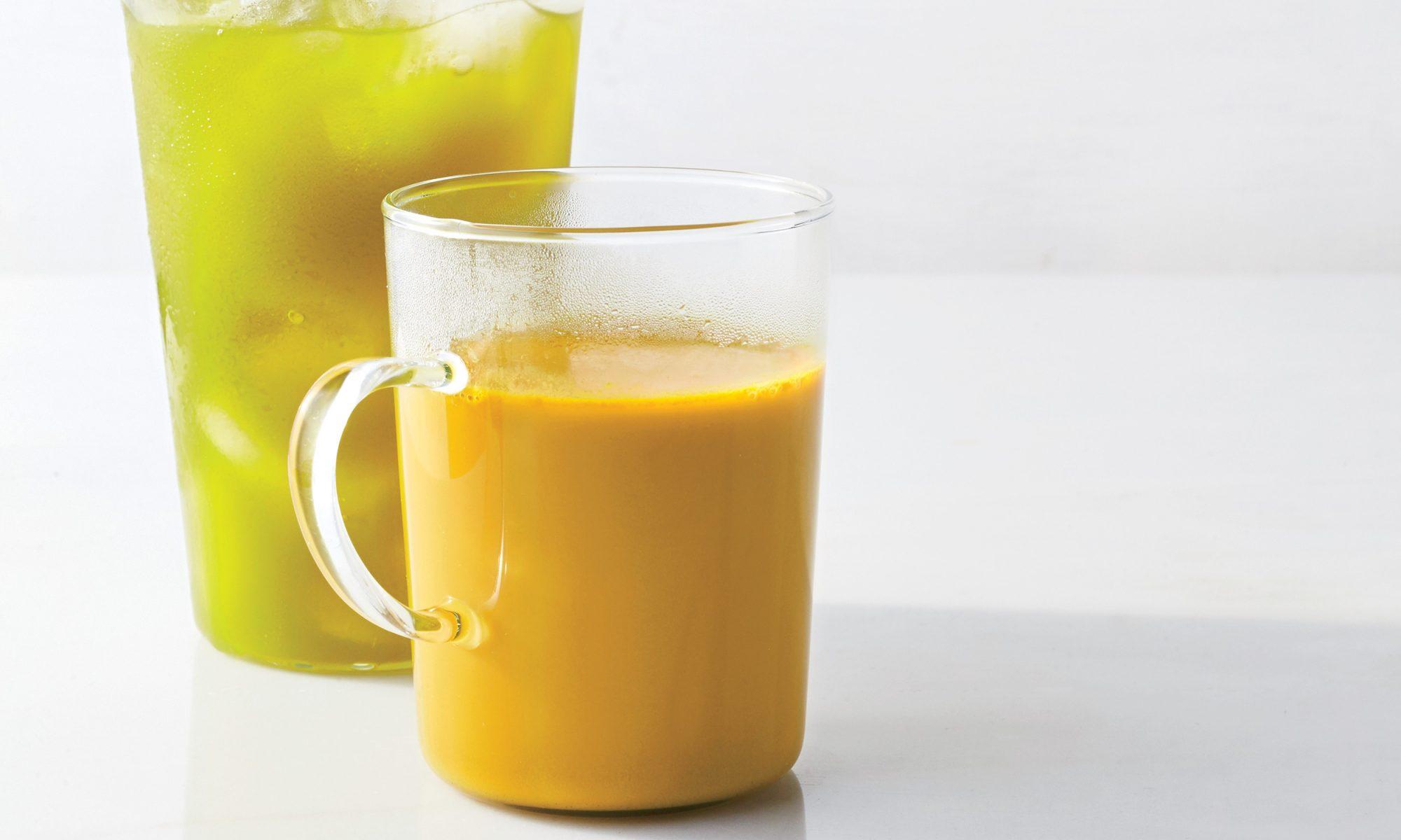 This Coconut Milk and Turmeric Tea Might Make You Smart and Sleepy