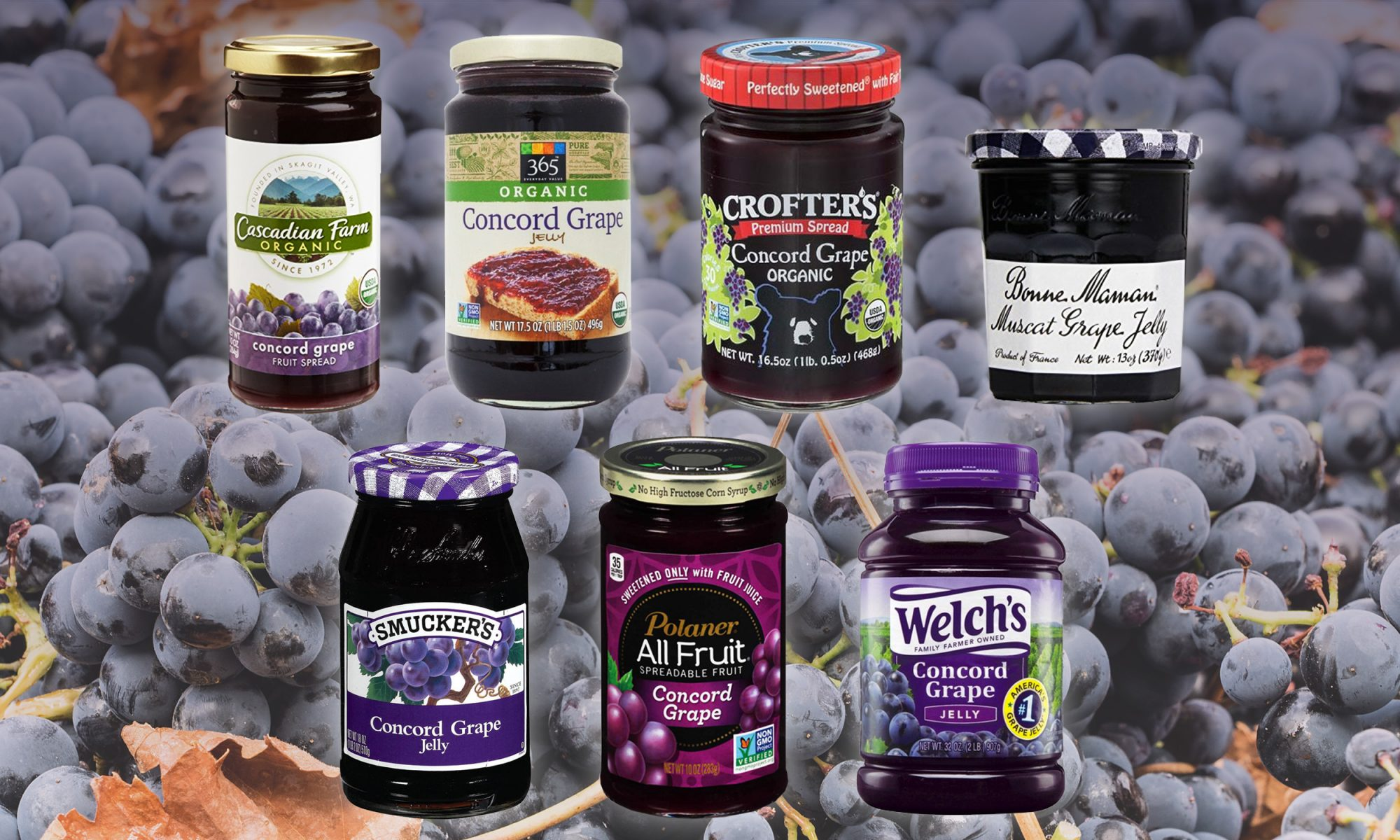 grape jelly taste test