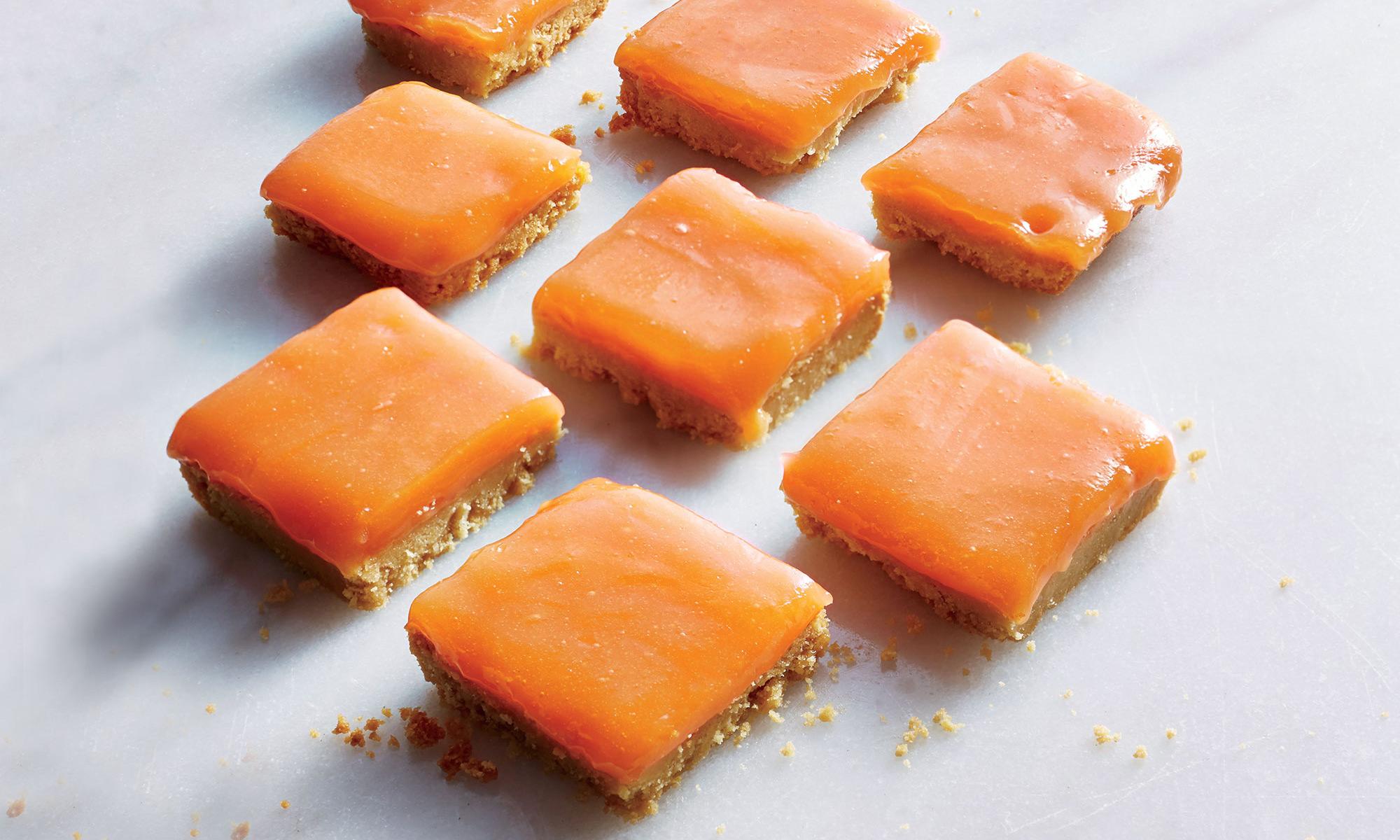 EC: Grapefruit-Campari Bars with Shortbread Crust