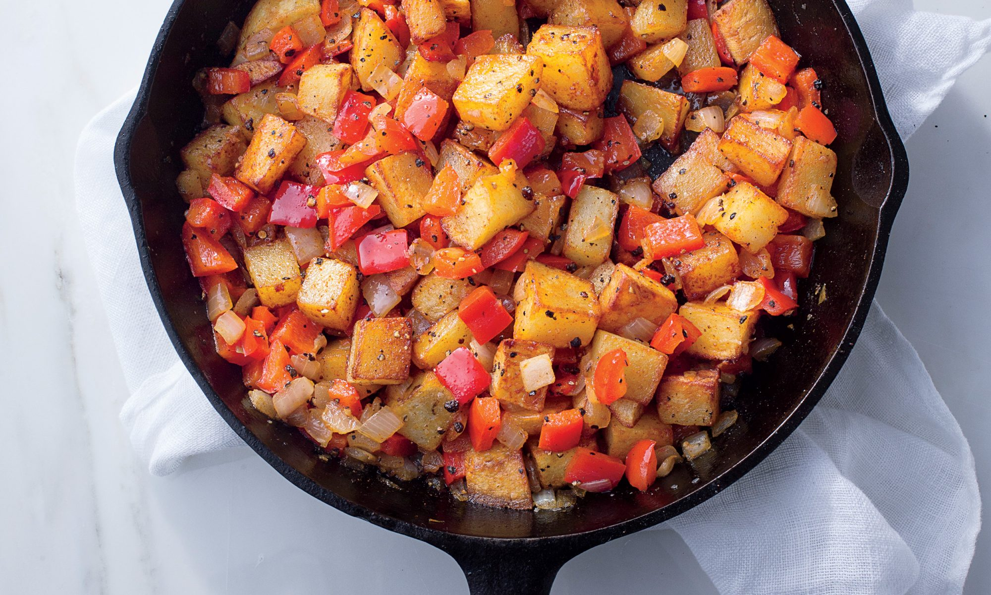Make Spicy Home Fries in Under 30 Minutes