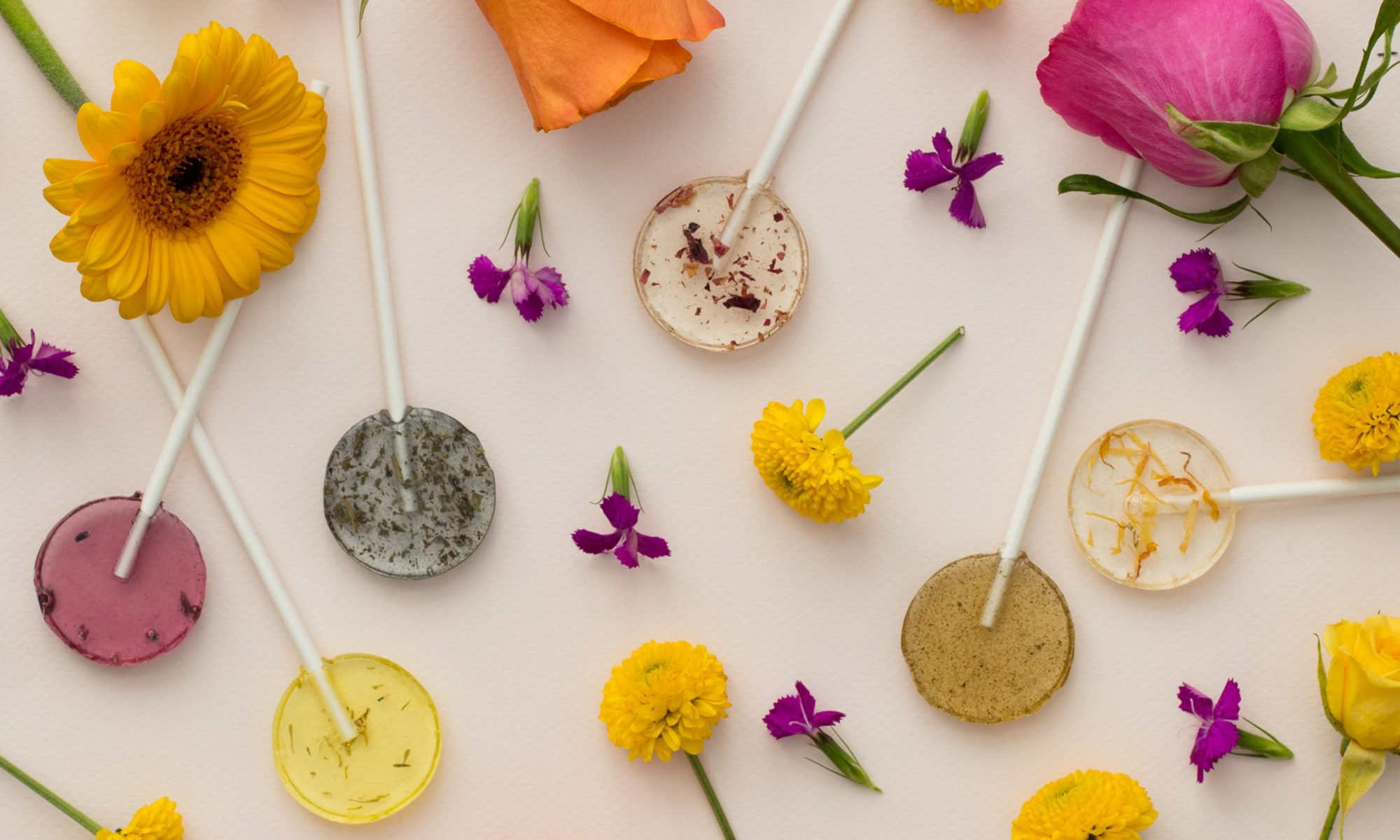 herb lollies