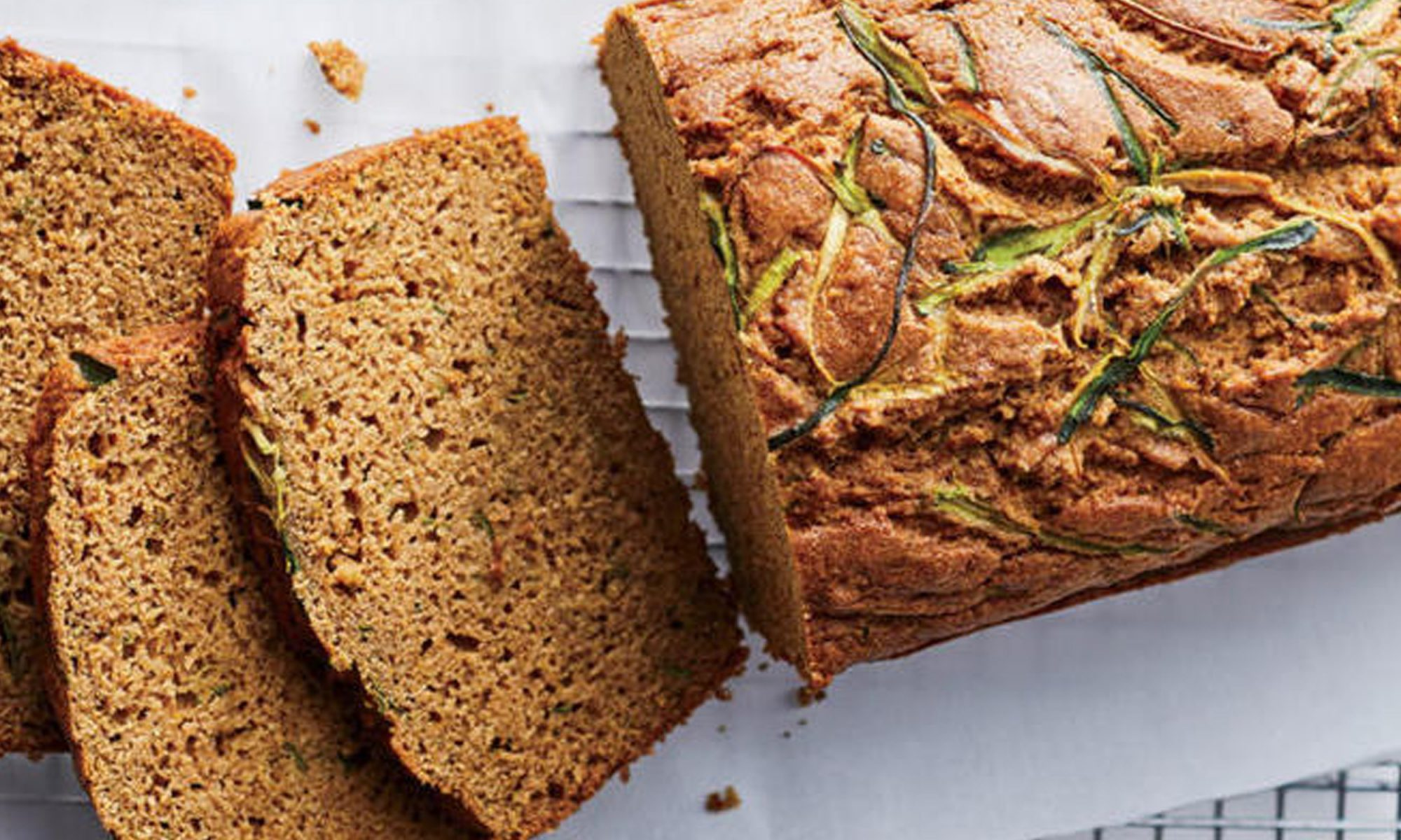 Coconut-Zucchini Bread