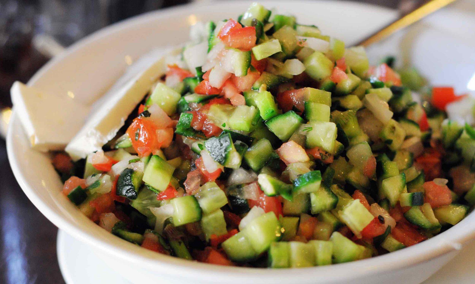 How to Make Israeli Salad