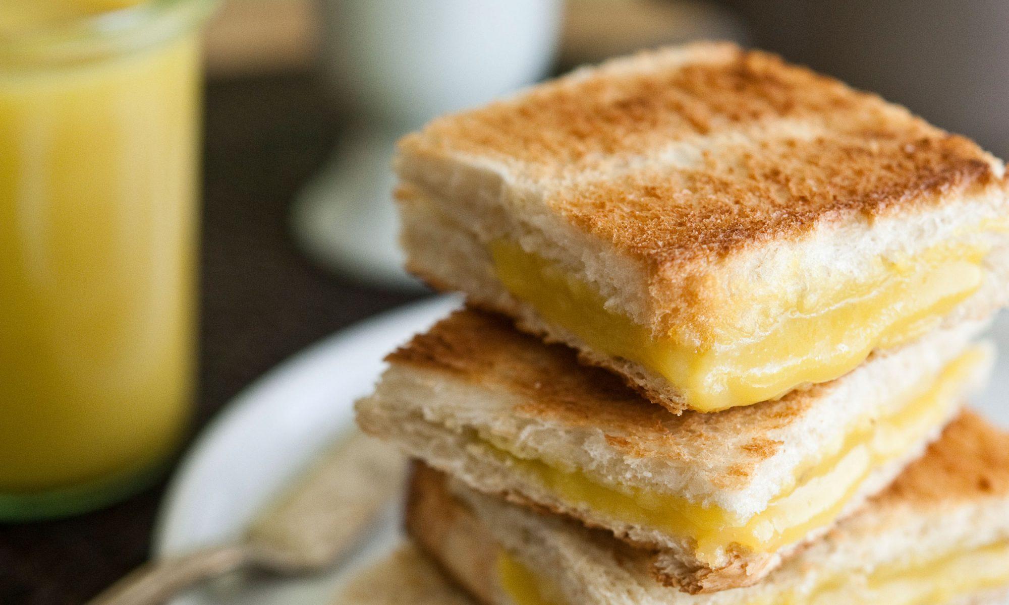 how to make kaya toast