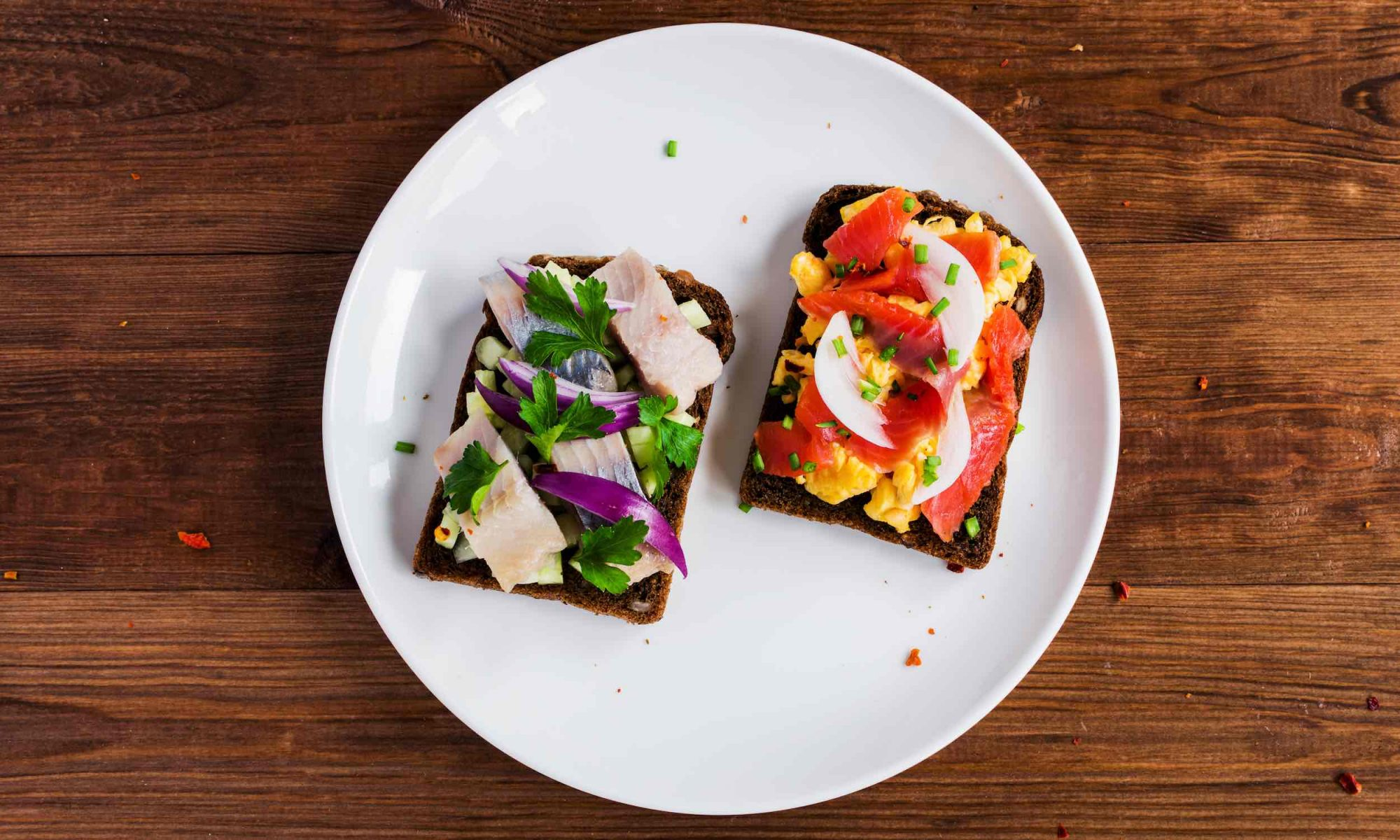how to make smorrebrod open faced sandwich