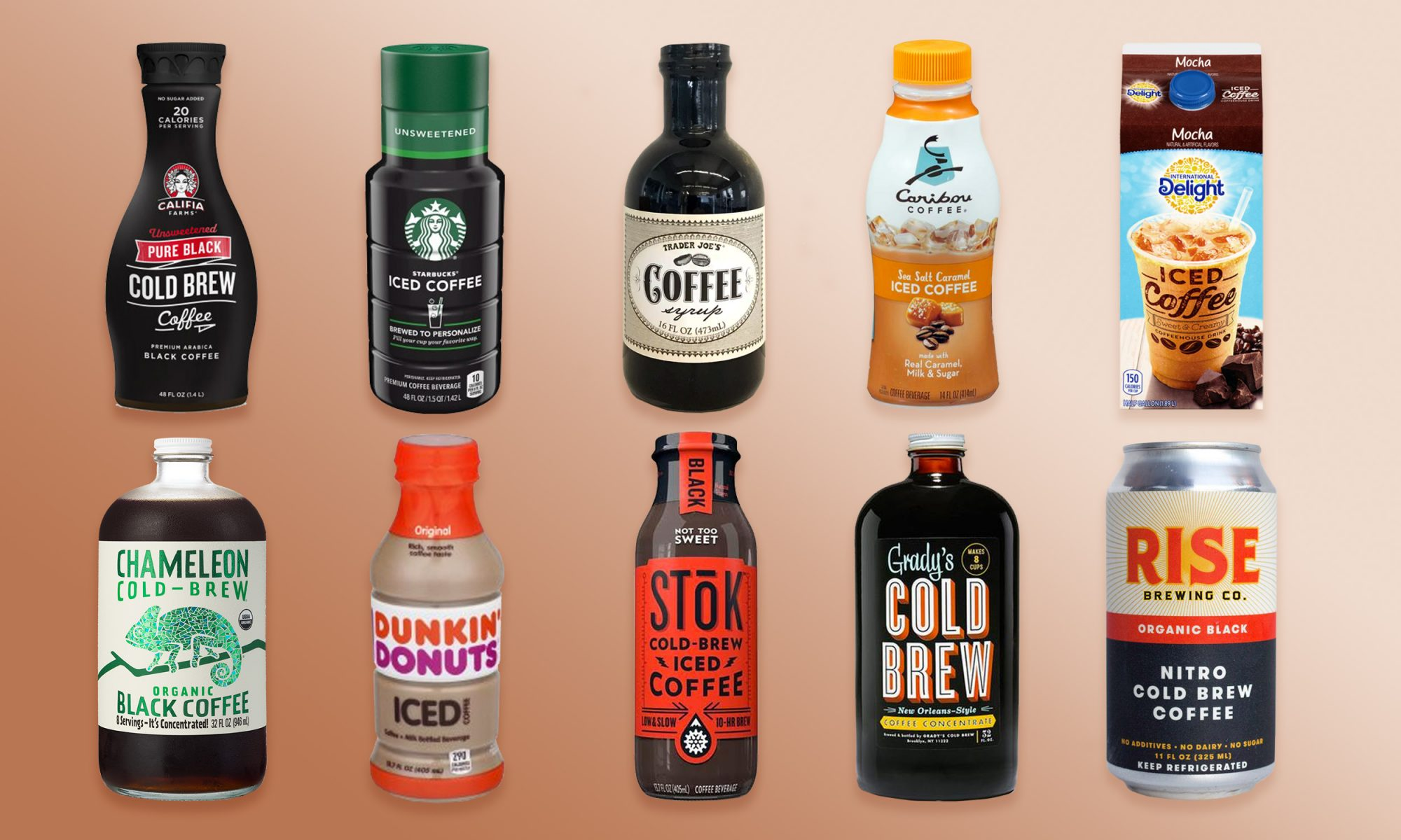 We Tried 10 Grocery Store Iced Coffees and Here Is the Best One