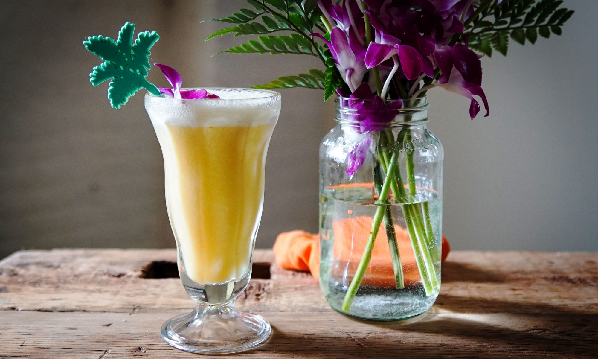 EC: Ramos Gin Fizz and Mango Lassi Hooked Up and Made a Beautiful Baby