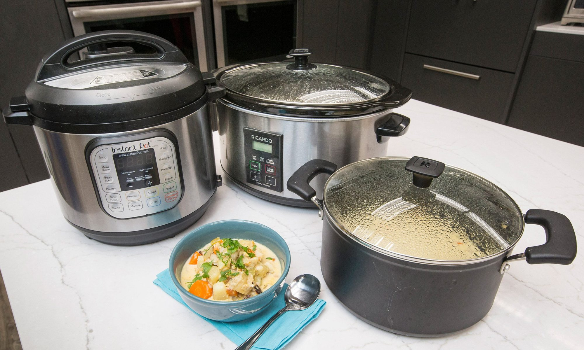 Instant Pot and slow cooker