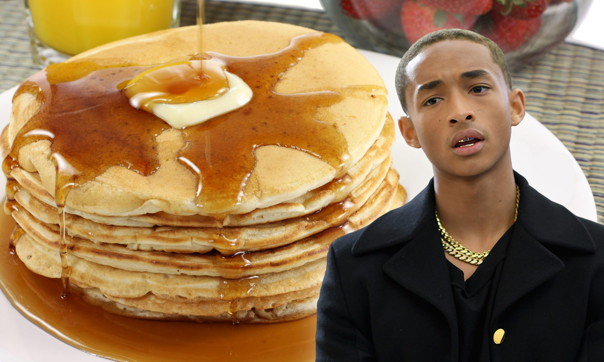 """EC: Jaden Smith Thinks a Hotel """"Spiked"""" His Pancakes With Cheese"""