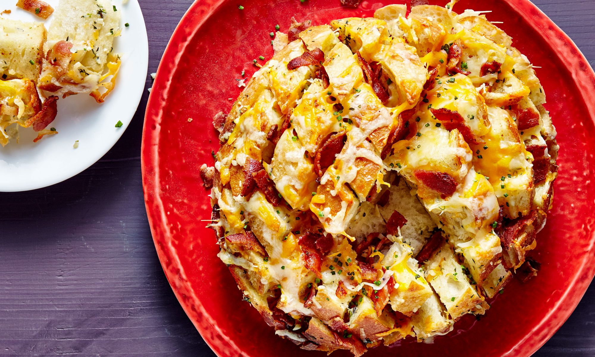 Cheesy Bacon Party Bread Is Your New Secret Weapon