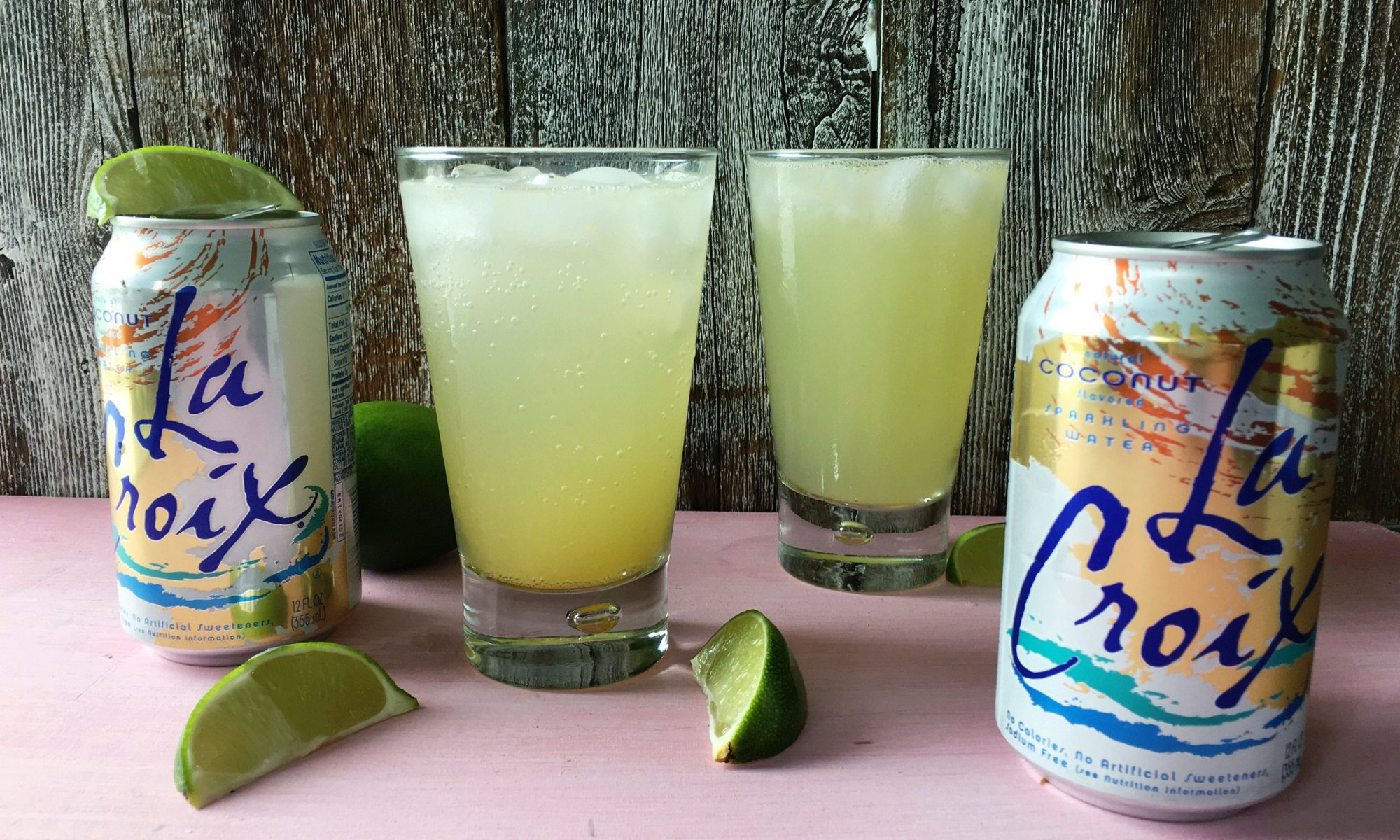 EC: How to Make a Piña Colada with Coconut La Croix