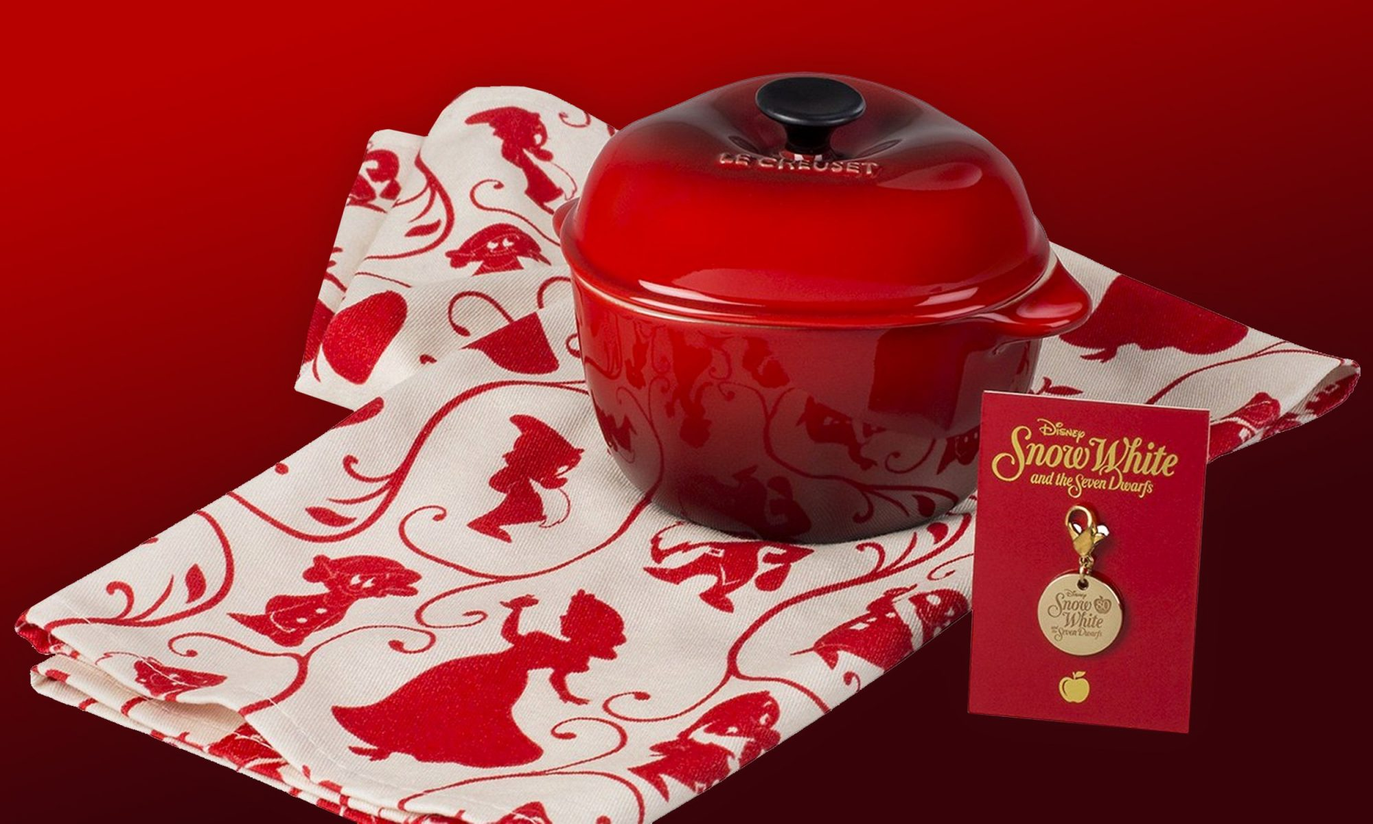 EC: Disney and Le Creuset Are Releasing Snow White-Inspired Cocottes