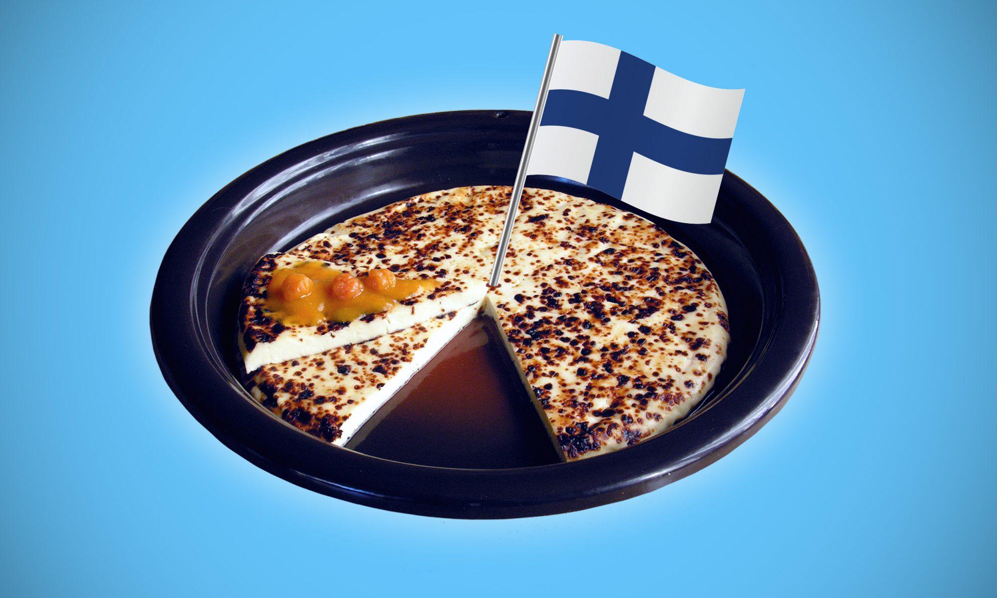 Leipäjuusto Finnish cheese