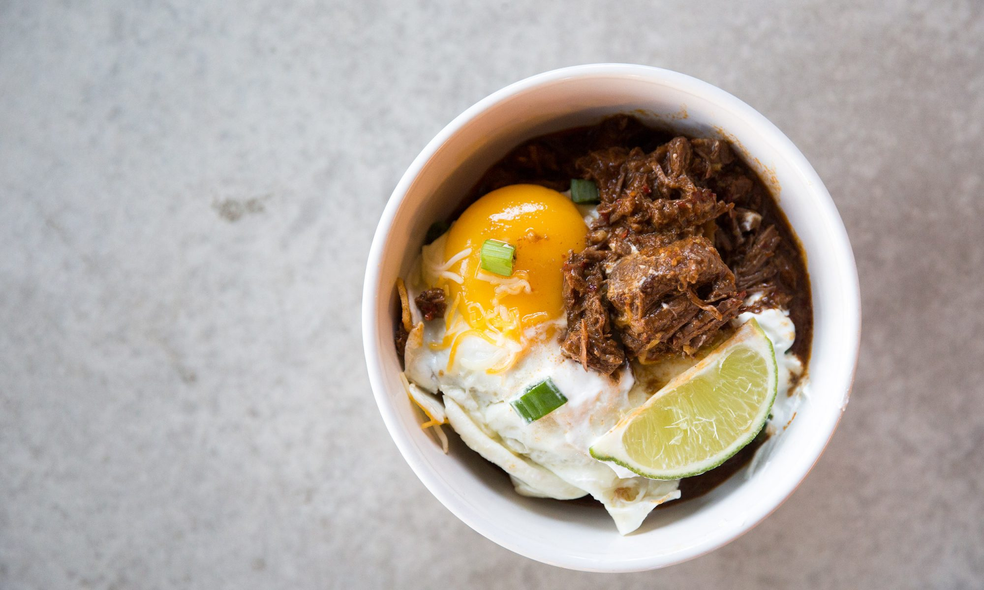 EC: Make Texas Red Chili and Eggs for Your Super Bowl Brunch