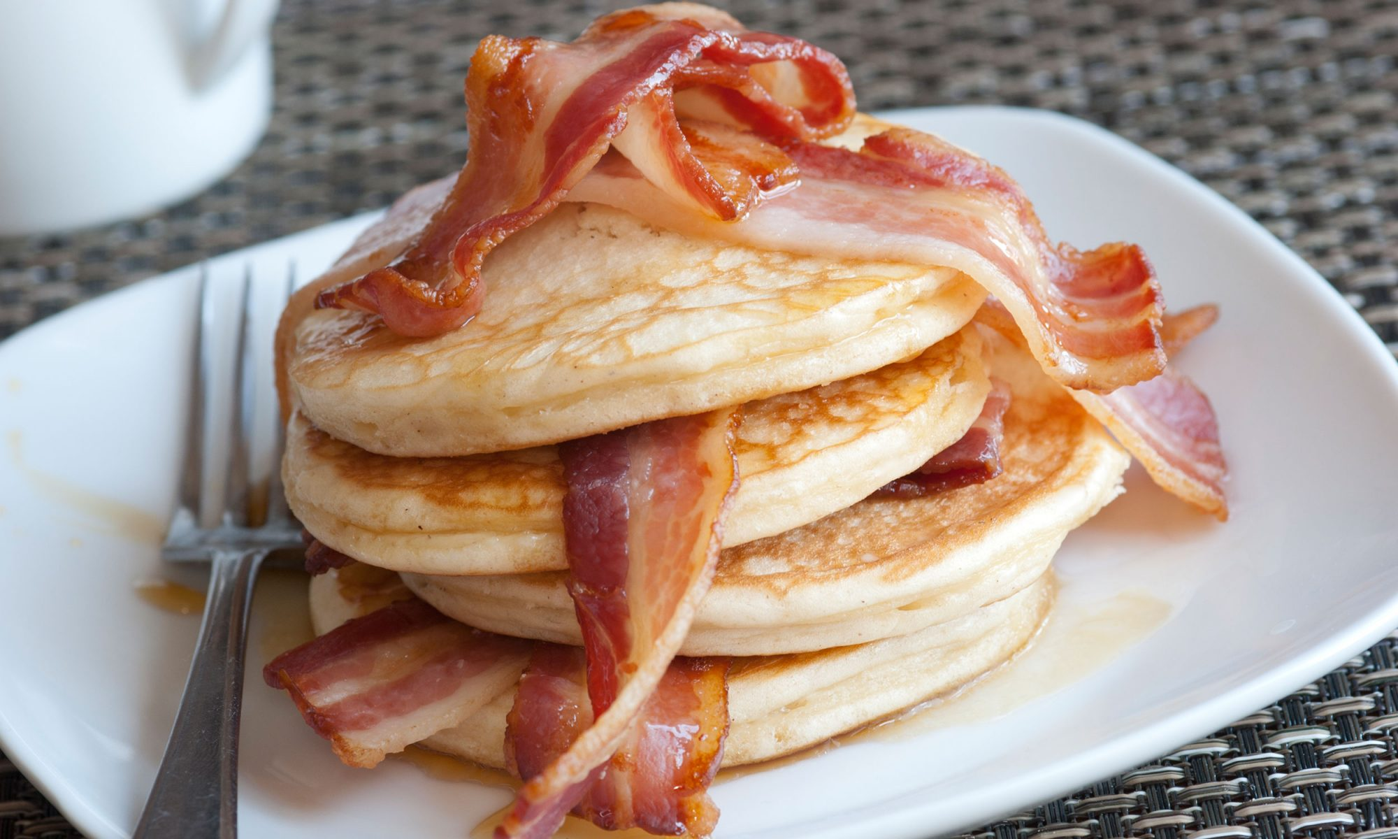 Bacon Pancake Dippers Are the Perfect Handheld Breakfast