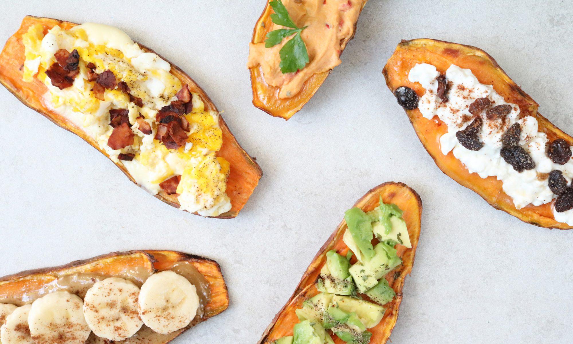 EC: 5 Ways to Make Sweet Potato Toast a.k.a. Avocado Toast's Weird Cousin