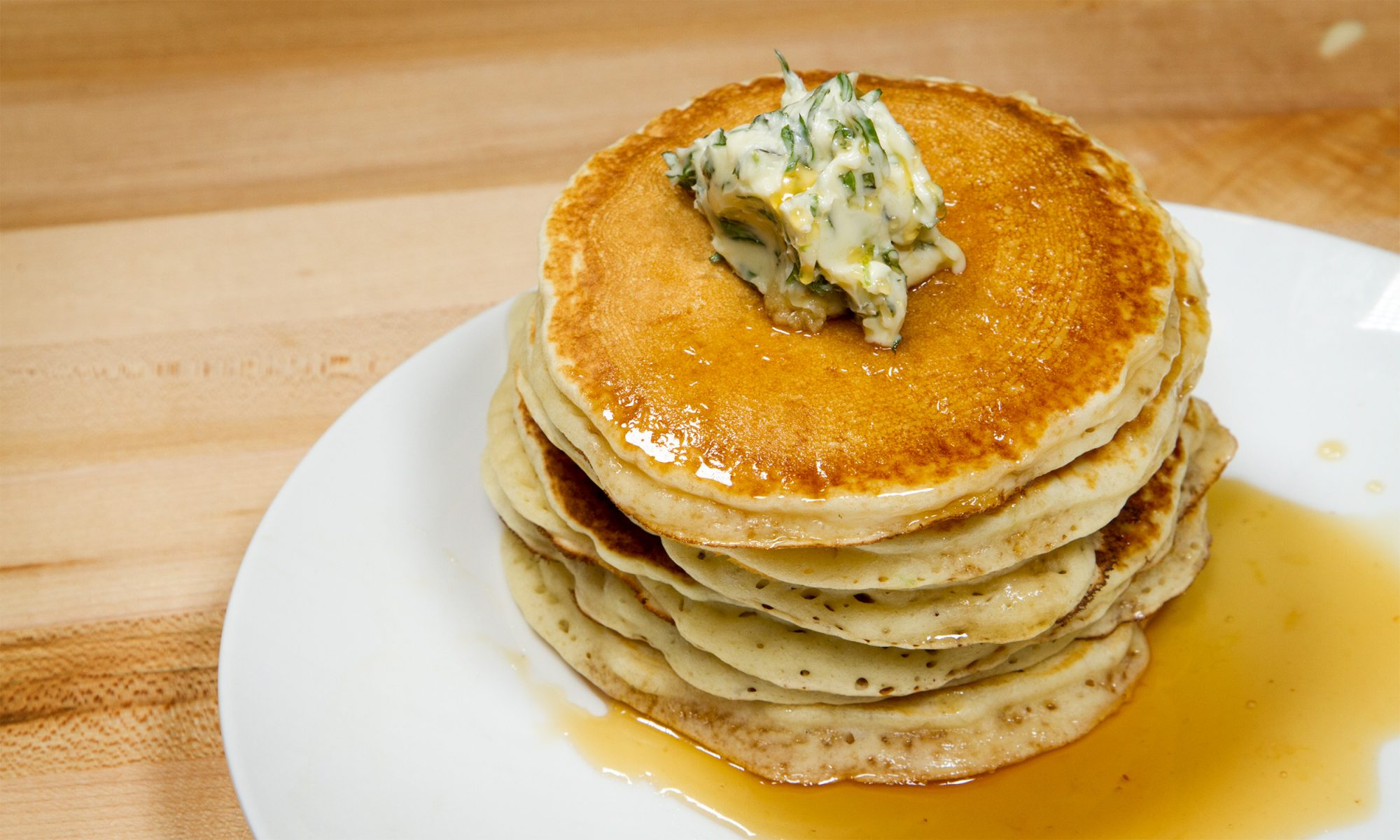 Mojito Pancakes Are Fluffy, Boozy, and Perfect in Every Way