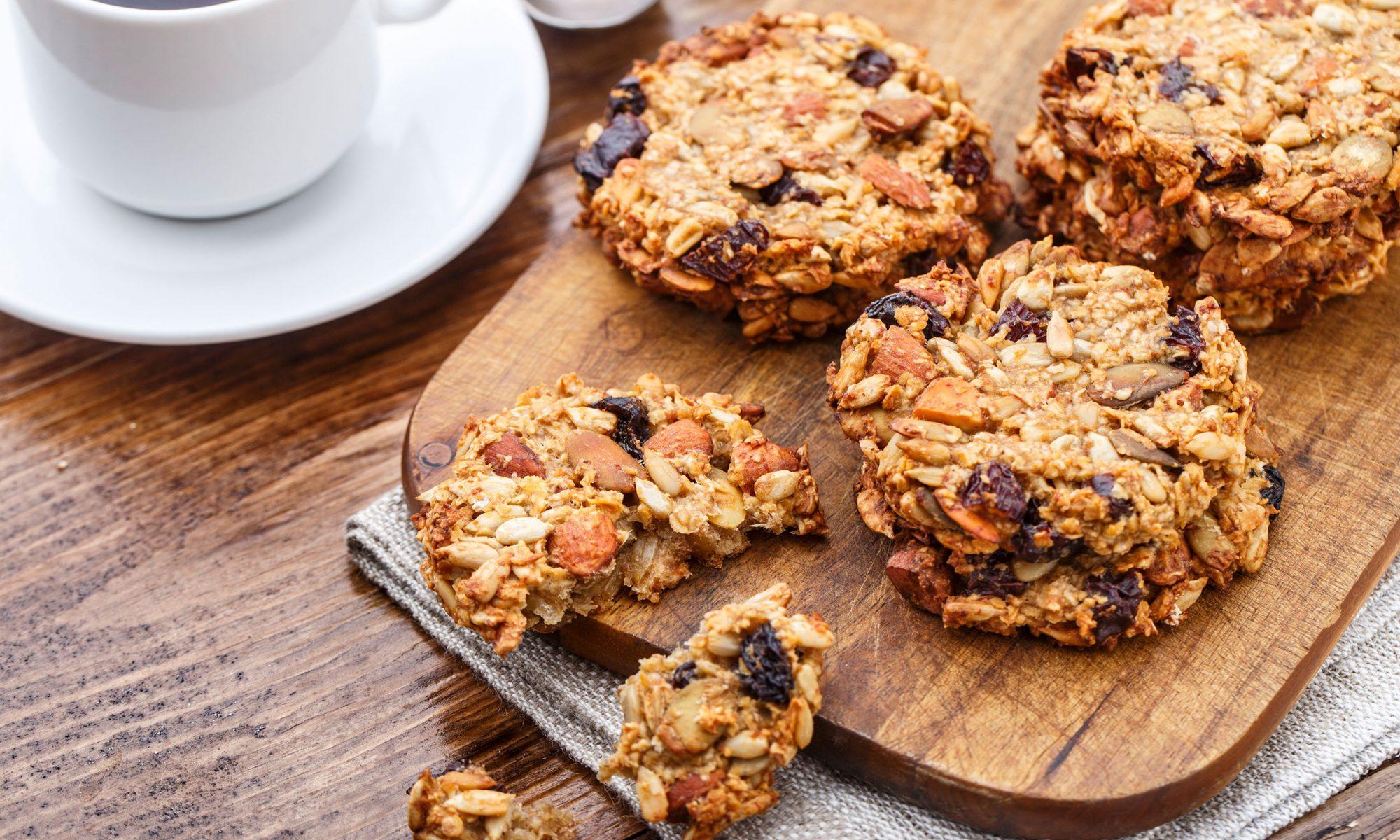 nut free sunflower seed butter breakfast cookies