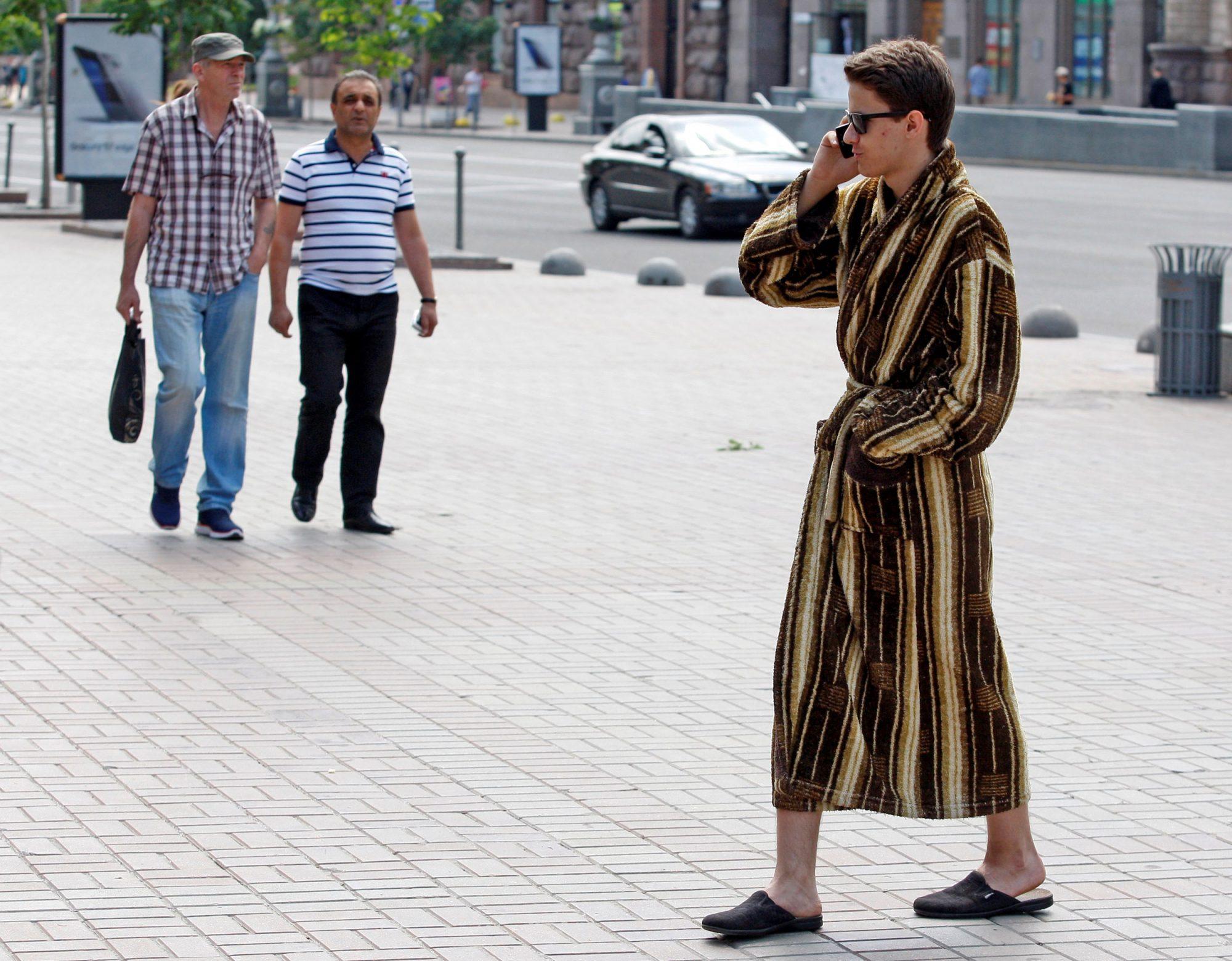 EC: Against Getting Dressed