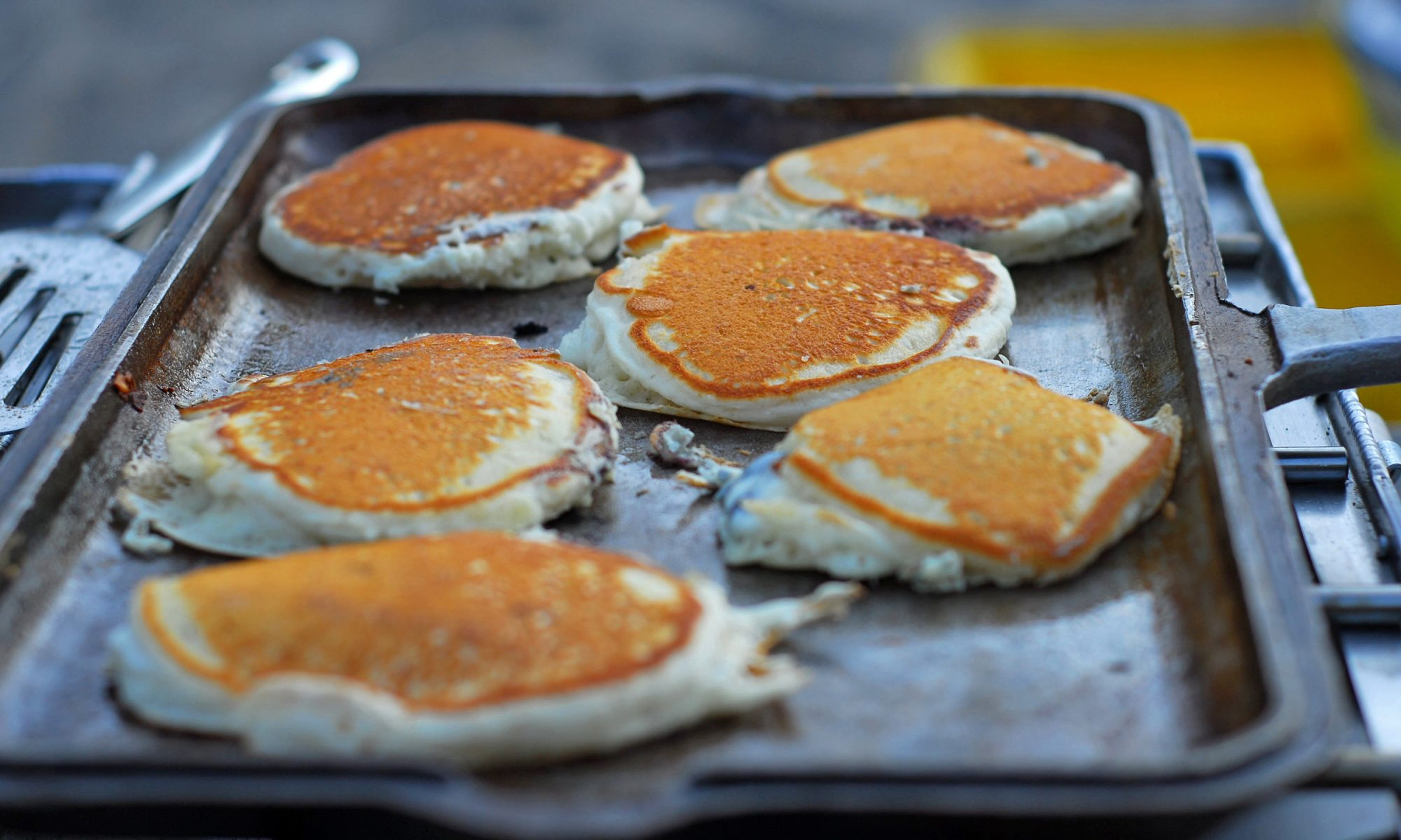 EC: My Mom's Pancake Griddle Keeps Me Grounded in Troubled Times
