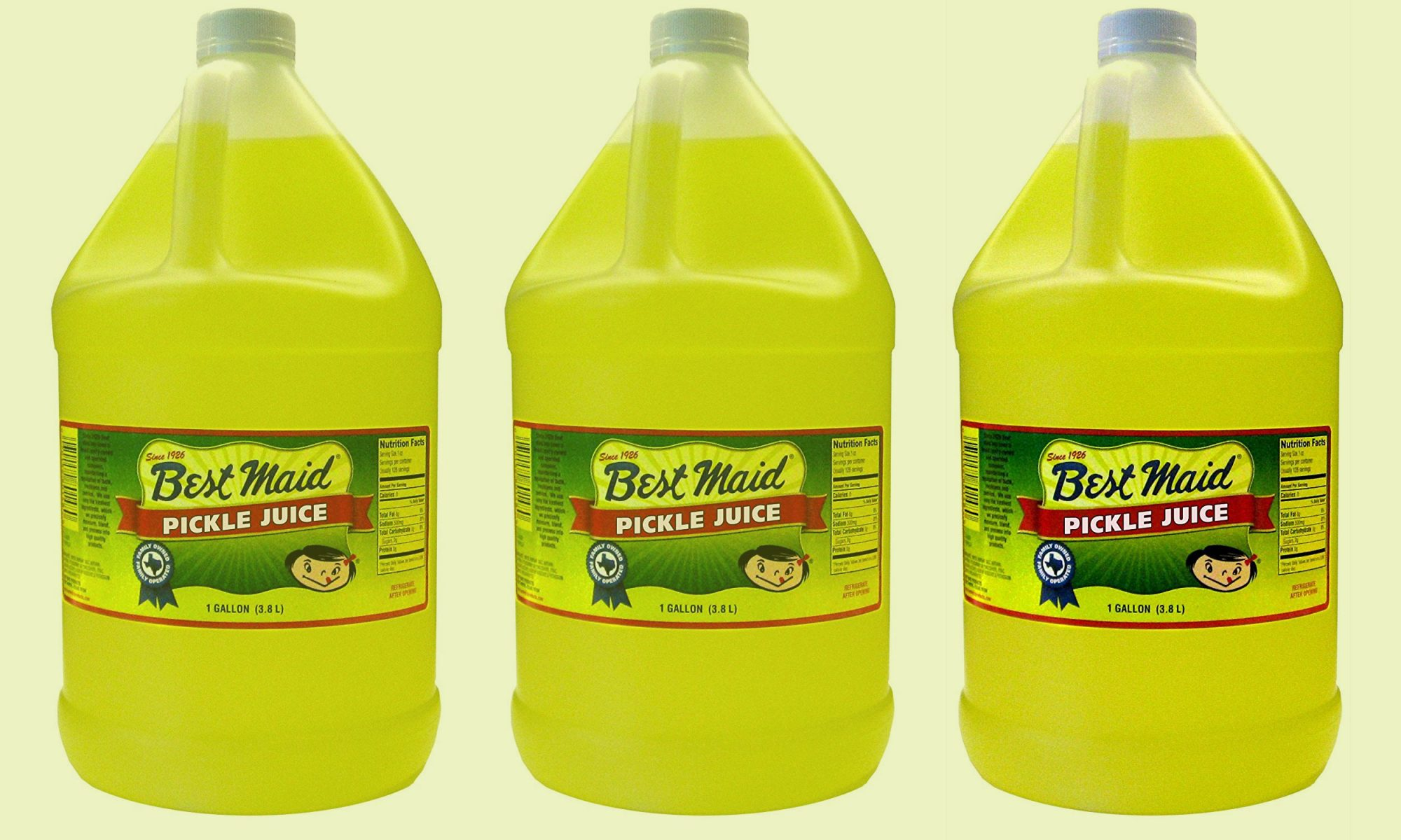 You Can Buy a Gallon of Straight Pickle Juice on Amazon