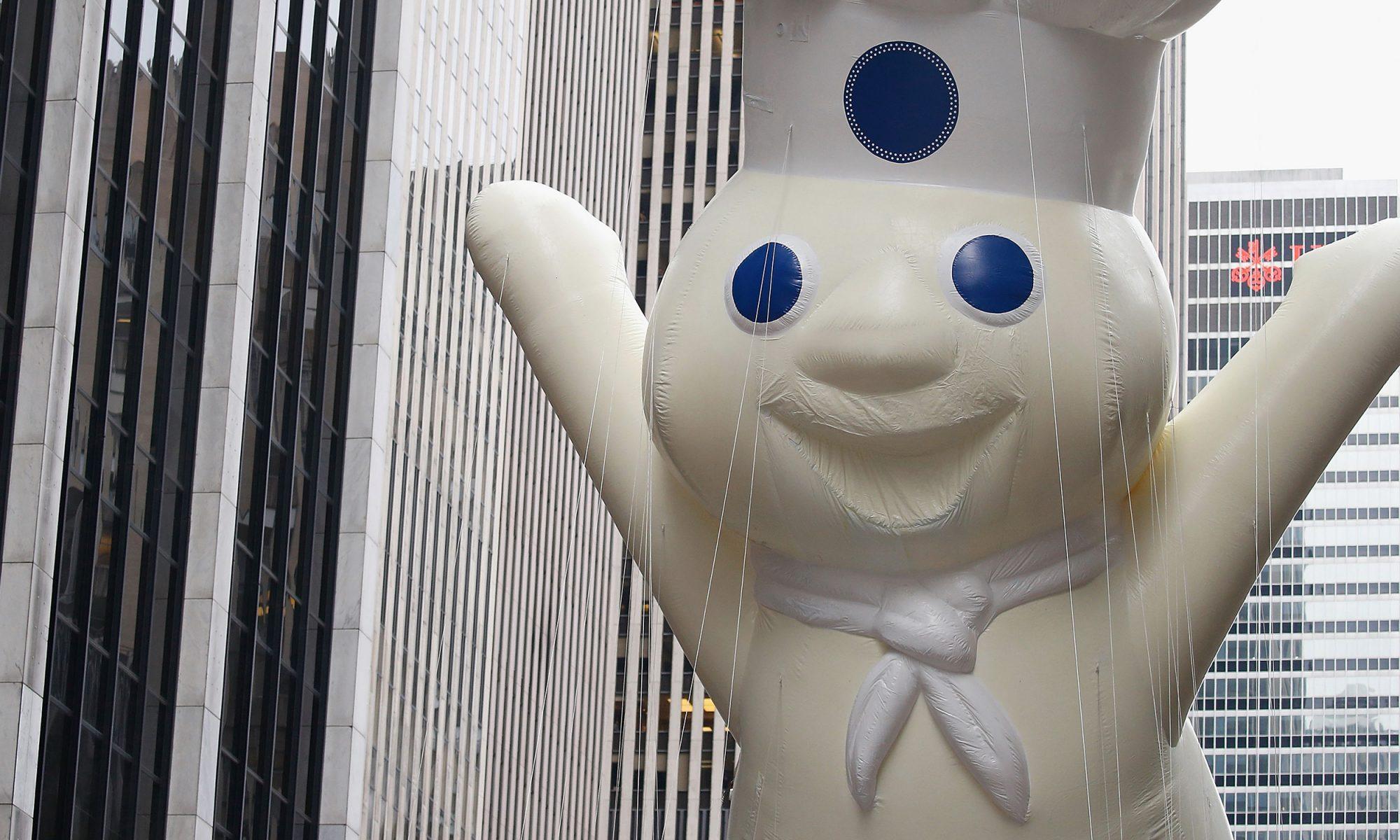 pillsbury dough boy balloon