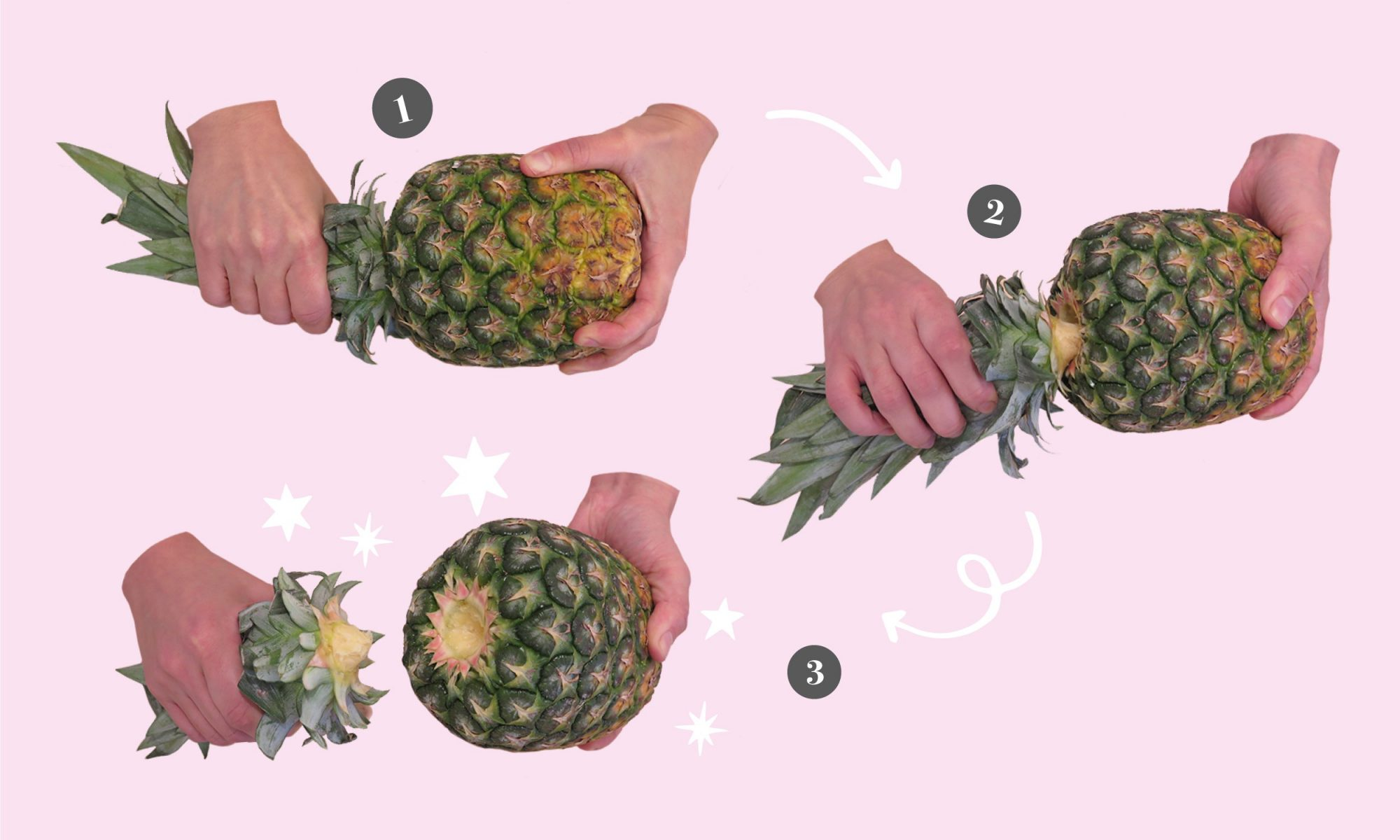 This Is the Right Way to Cut Up a Pineapple