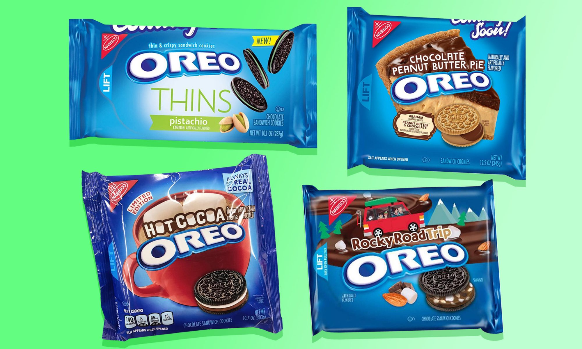 EC: Rocky Road, Chocolate Peanut Butter Pie, and Pistachio Oreos Could Be on the Way