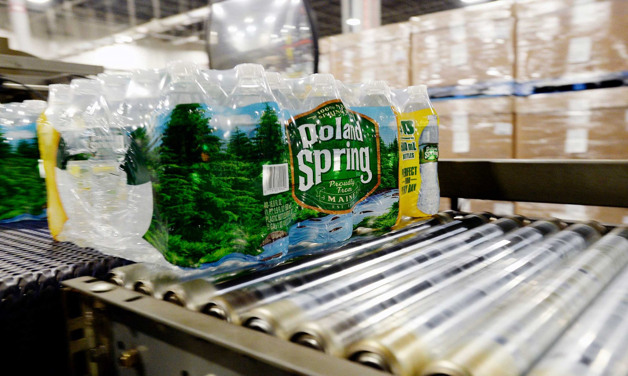 EC: Poland Spring Water Isn't Spring Water, According to New Lawsuit