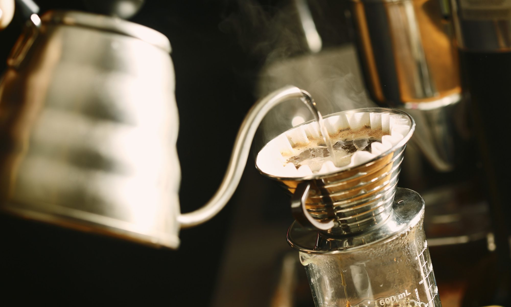 EC: Brew Pour Over Coffee, One Cup at a Time