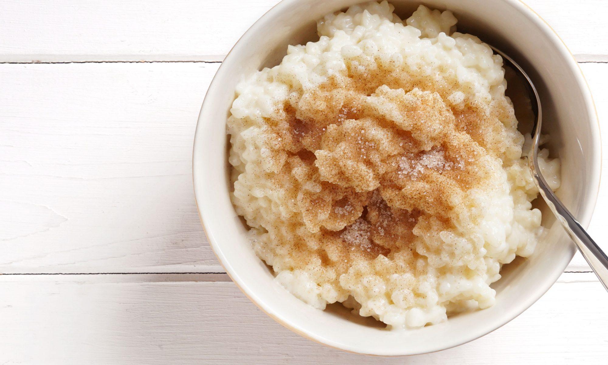quinoa rice pudding