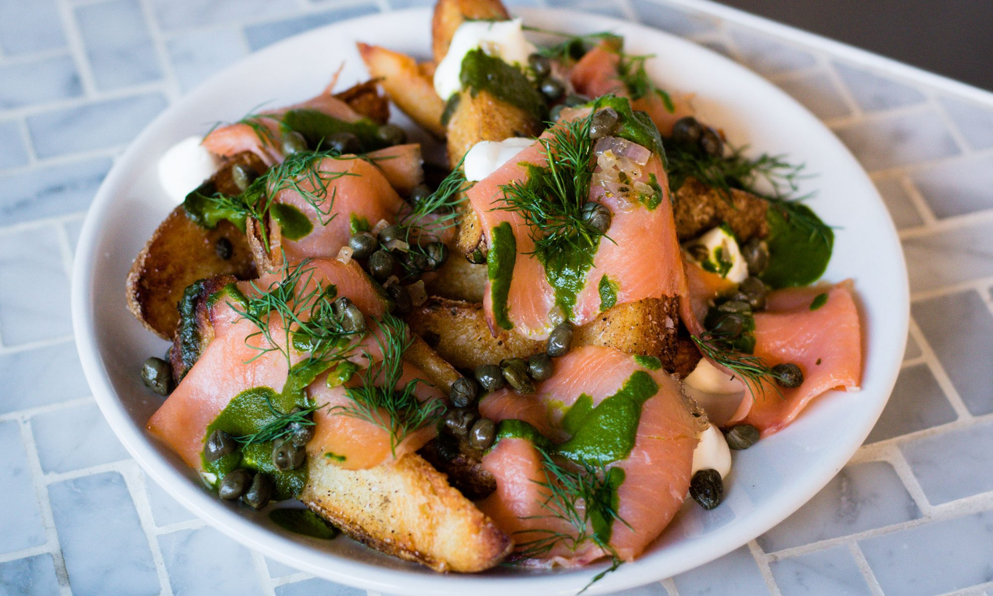 EC: Rider's Loaded Lox Fries Are Better Than Bagels and Lox
