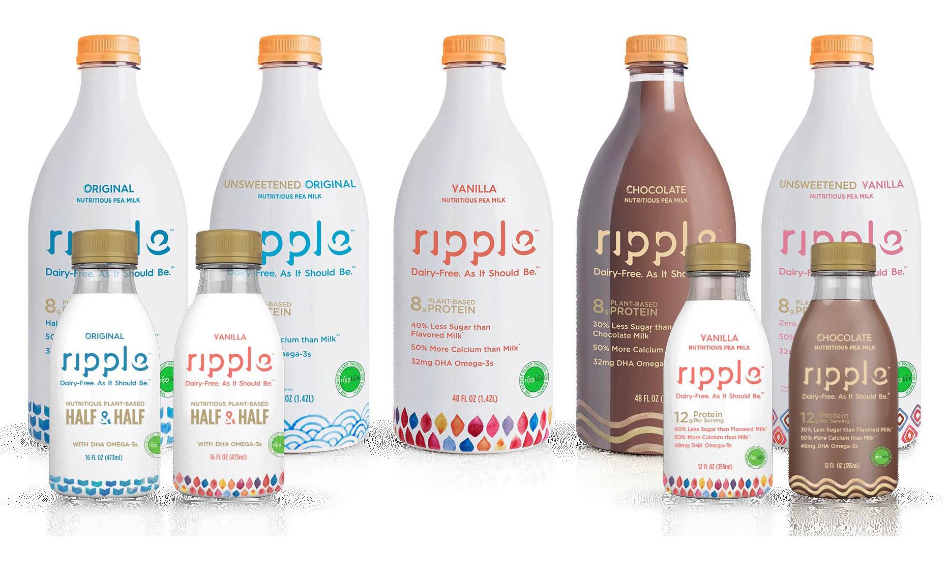 Ripple pea milk