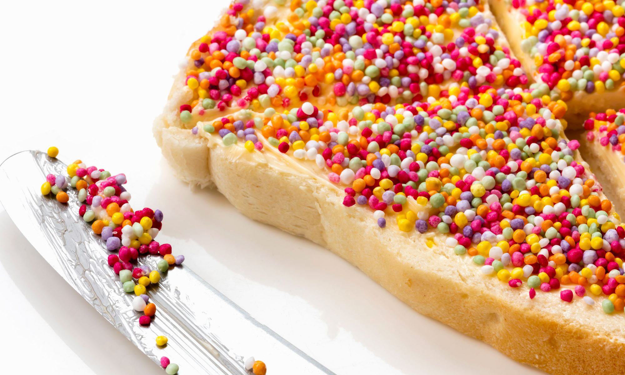 Fairy Bread Is Perfect and I Don't Want to Hear Another Word About It