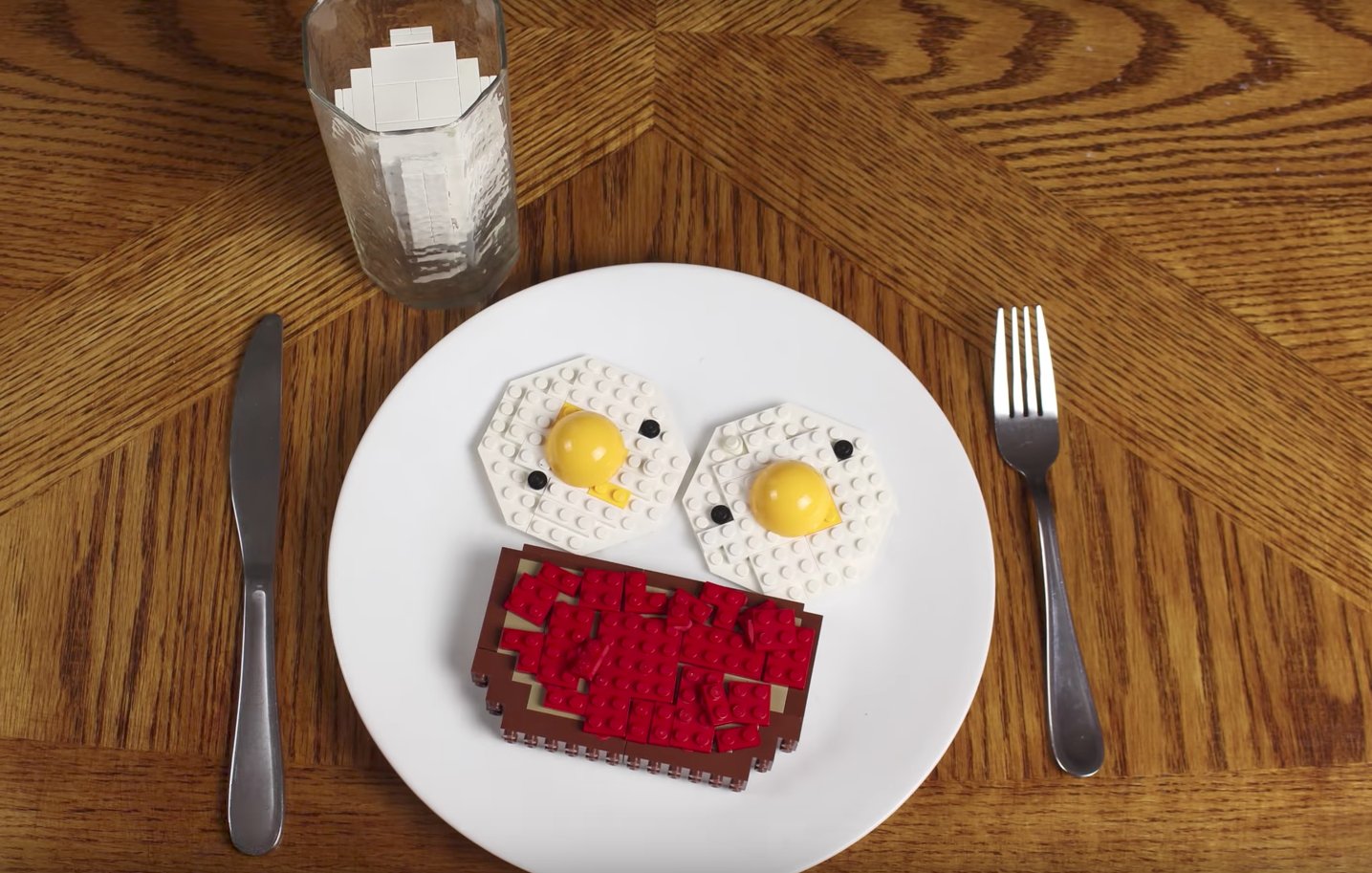 EC: This Breakfast Is Made Entirely of Legos
