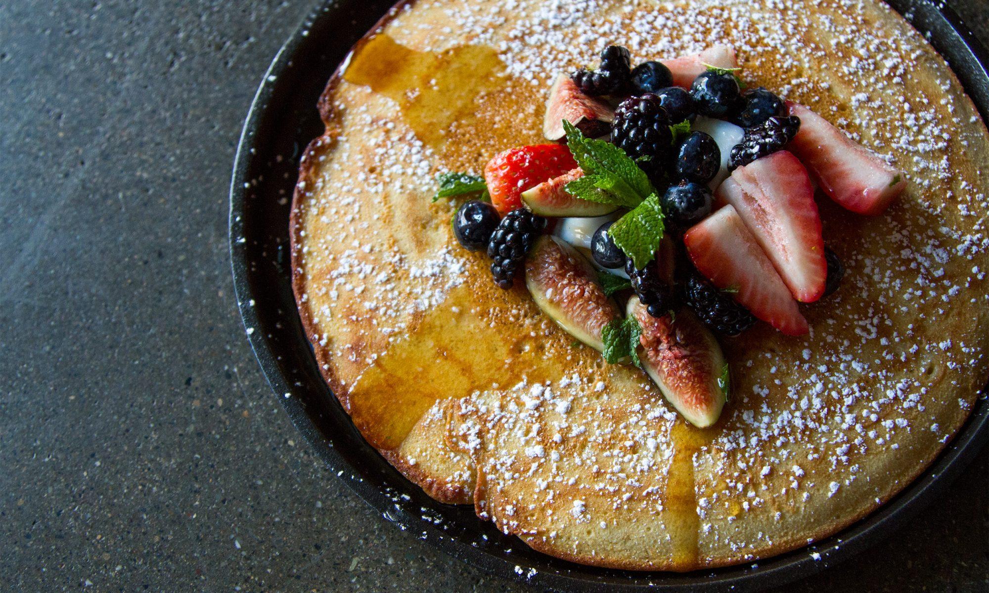 Italian-Style Semolina Pancakes That'll Make Your Nonna Proud
