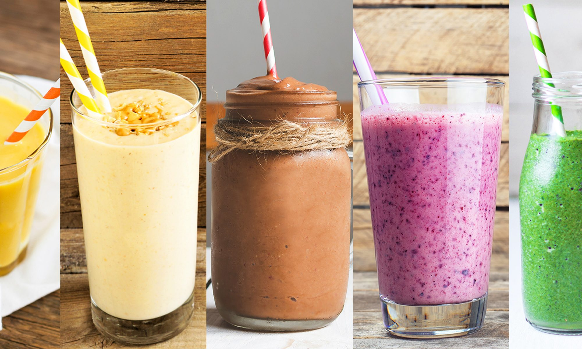 5 Easy Smoothie Recipes with Only 5 Ingredients