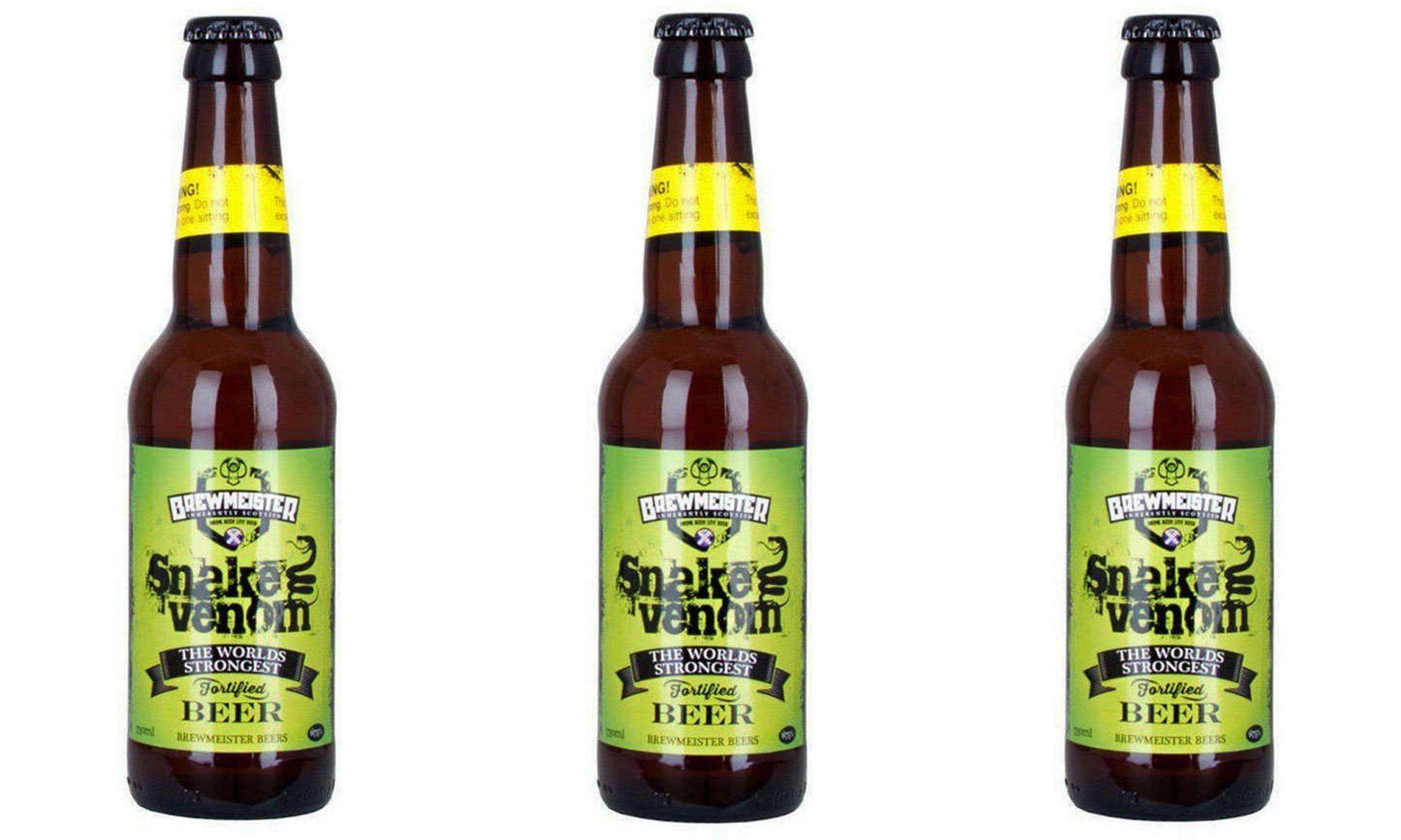 snake venom beer