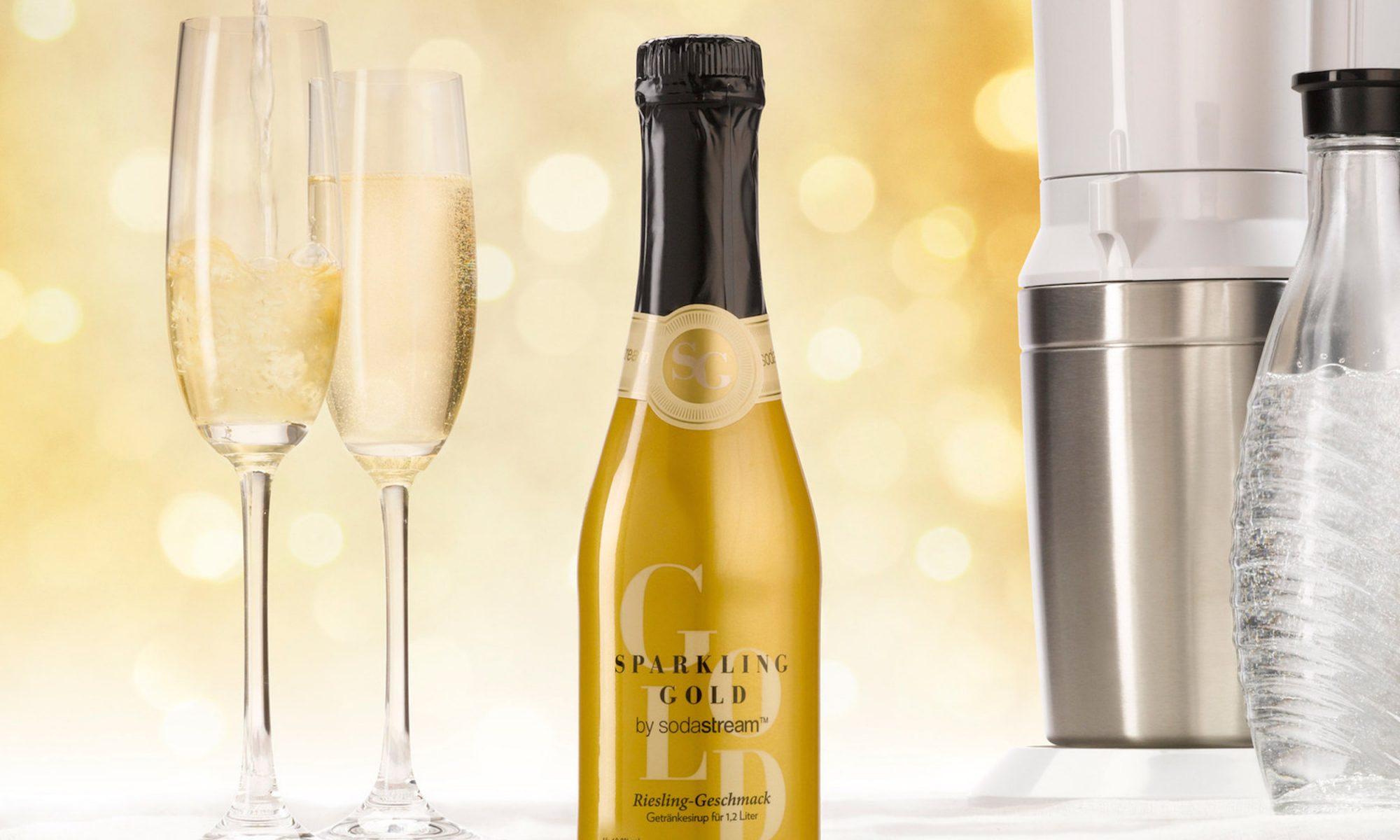 sodastream sparkling wine
