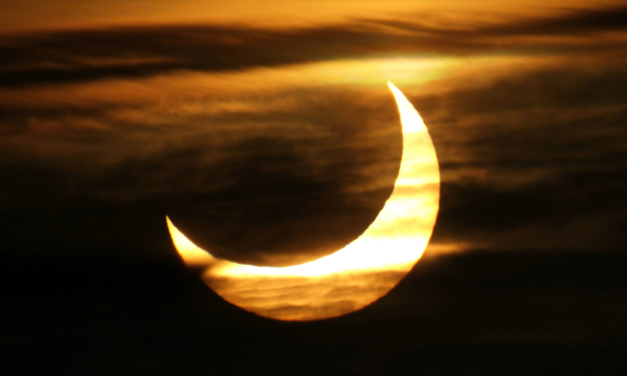 solar eclipse moon
