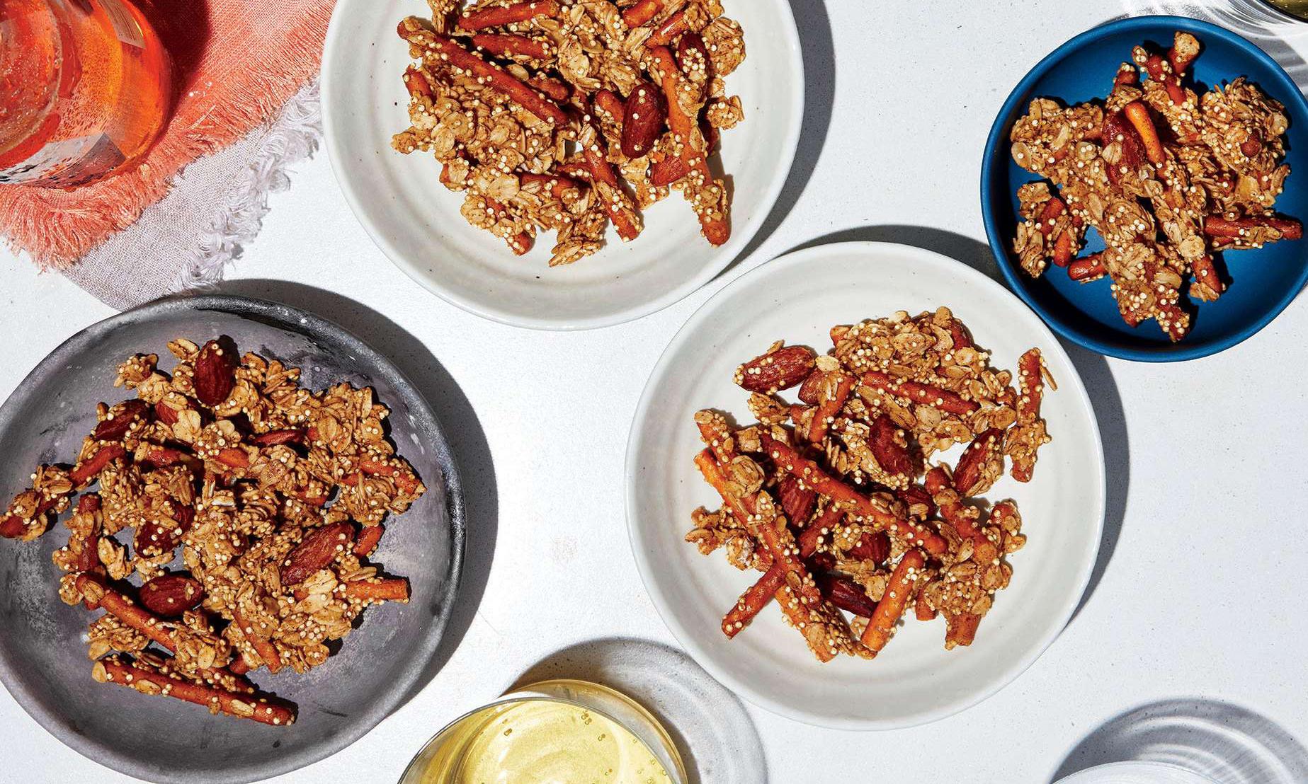 spicy granola