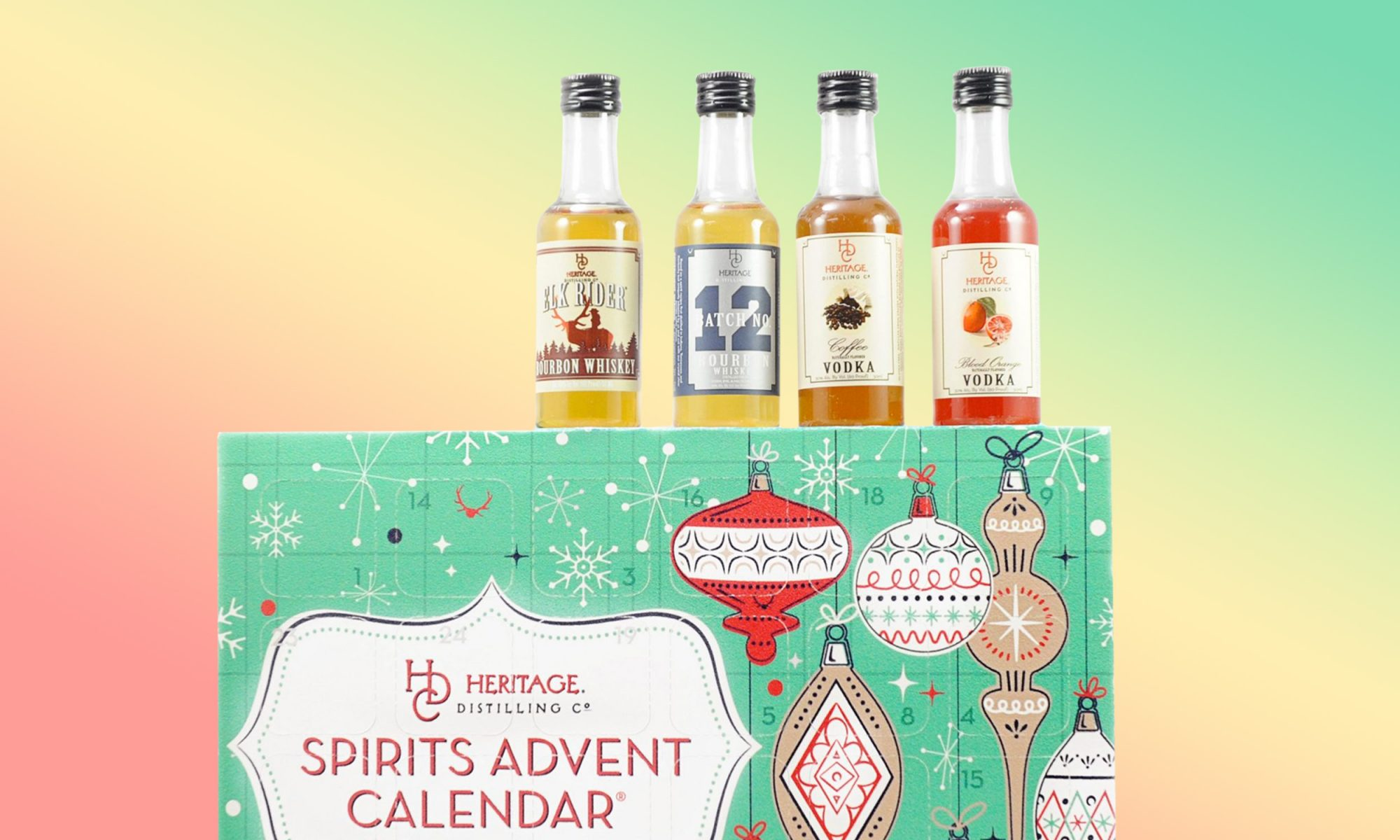 EC: Drink and Be Merry With This Booze Advent Calendar