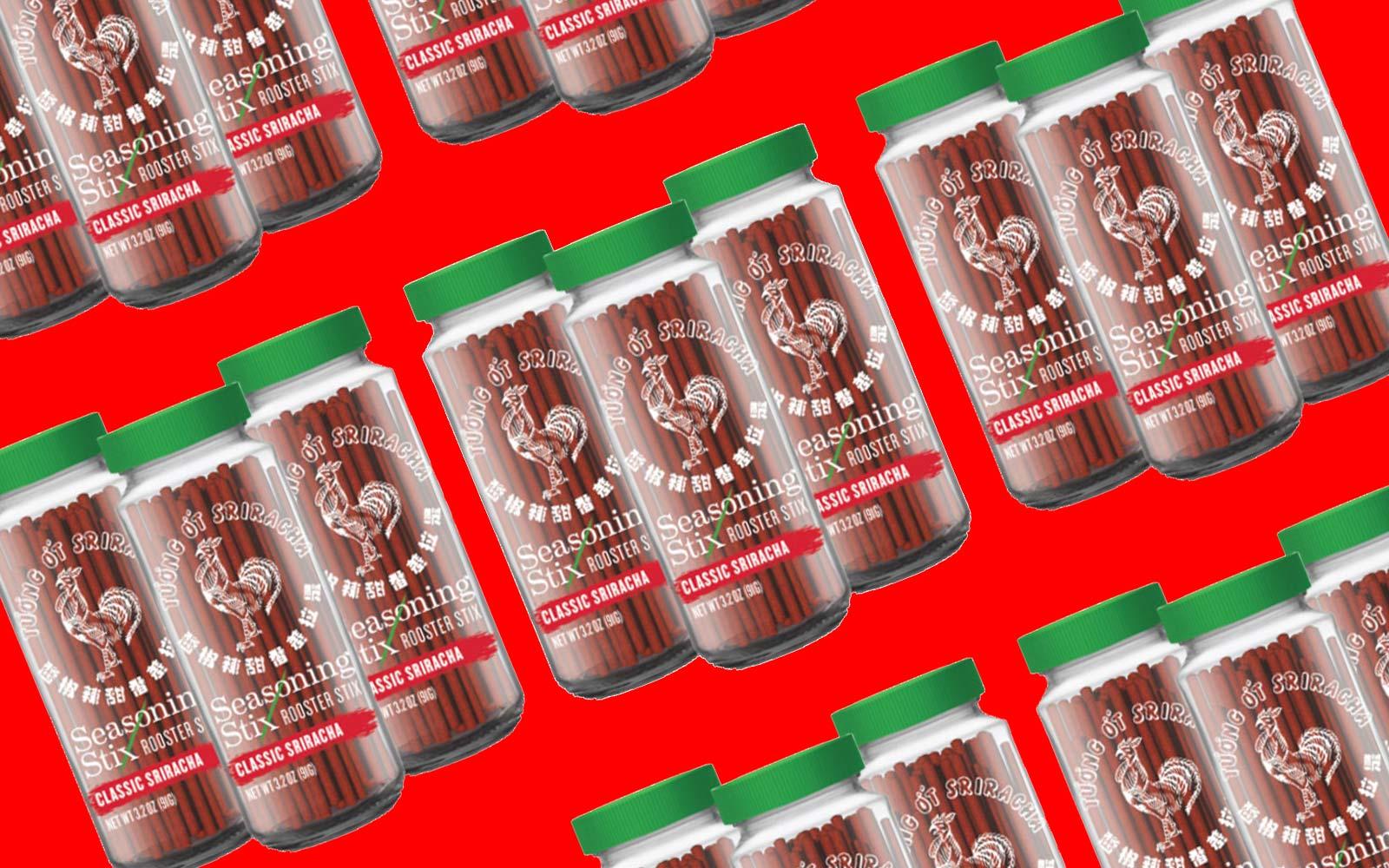Hot Spicy Red Sriracha Sauce