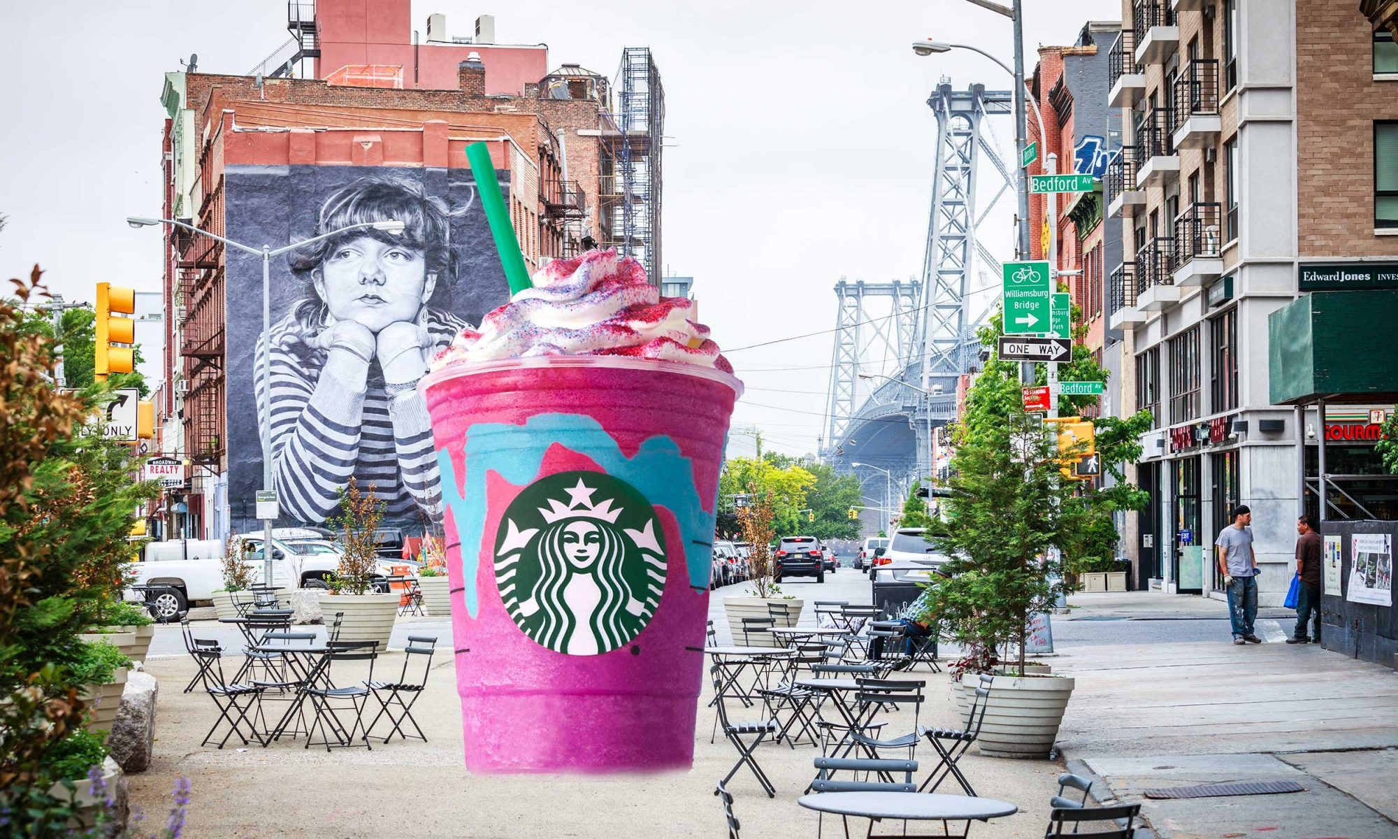 EC: Did Starbucks Steal the Unicorn Frappuccino from a Brooklyn Cafe?