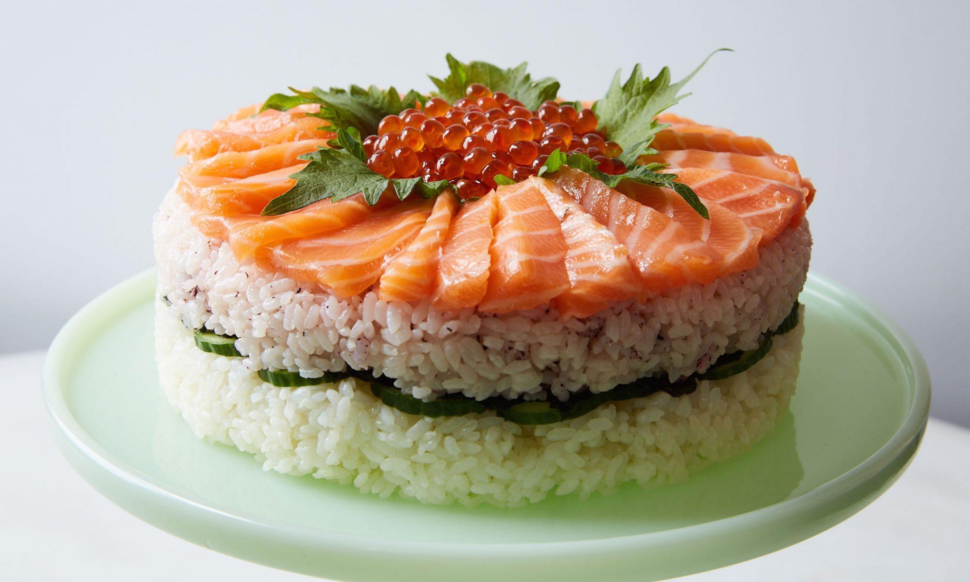 Japanese Sushi Cake Recipe