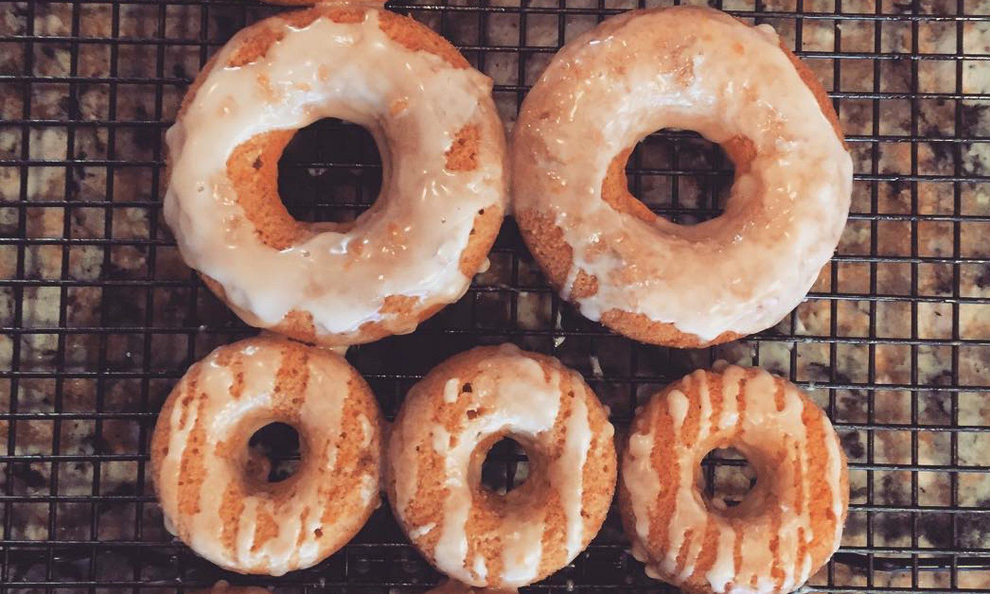sweet potato cake doughnuts