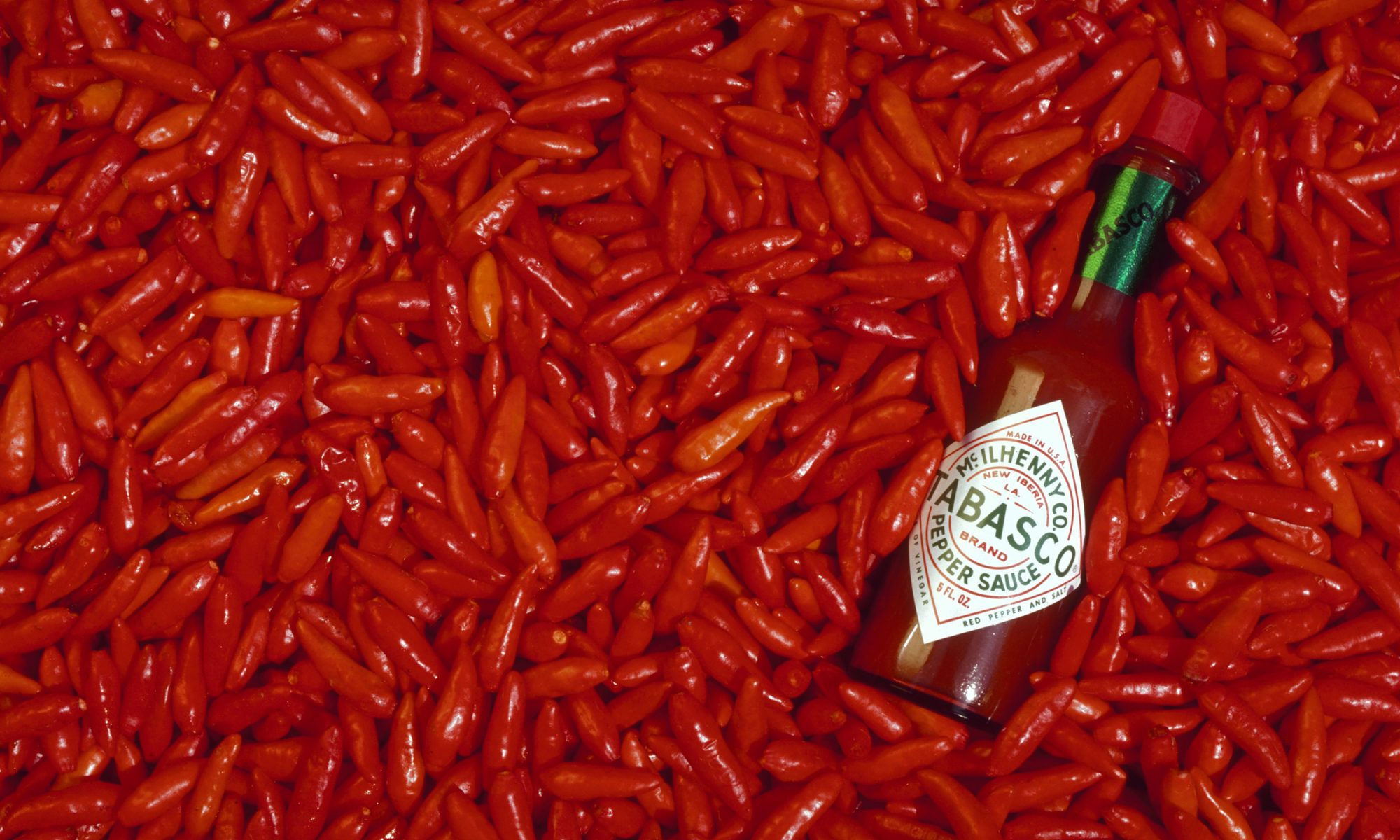 tabasco peppers and sauce