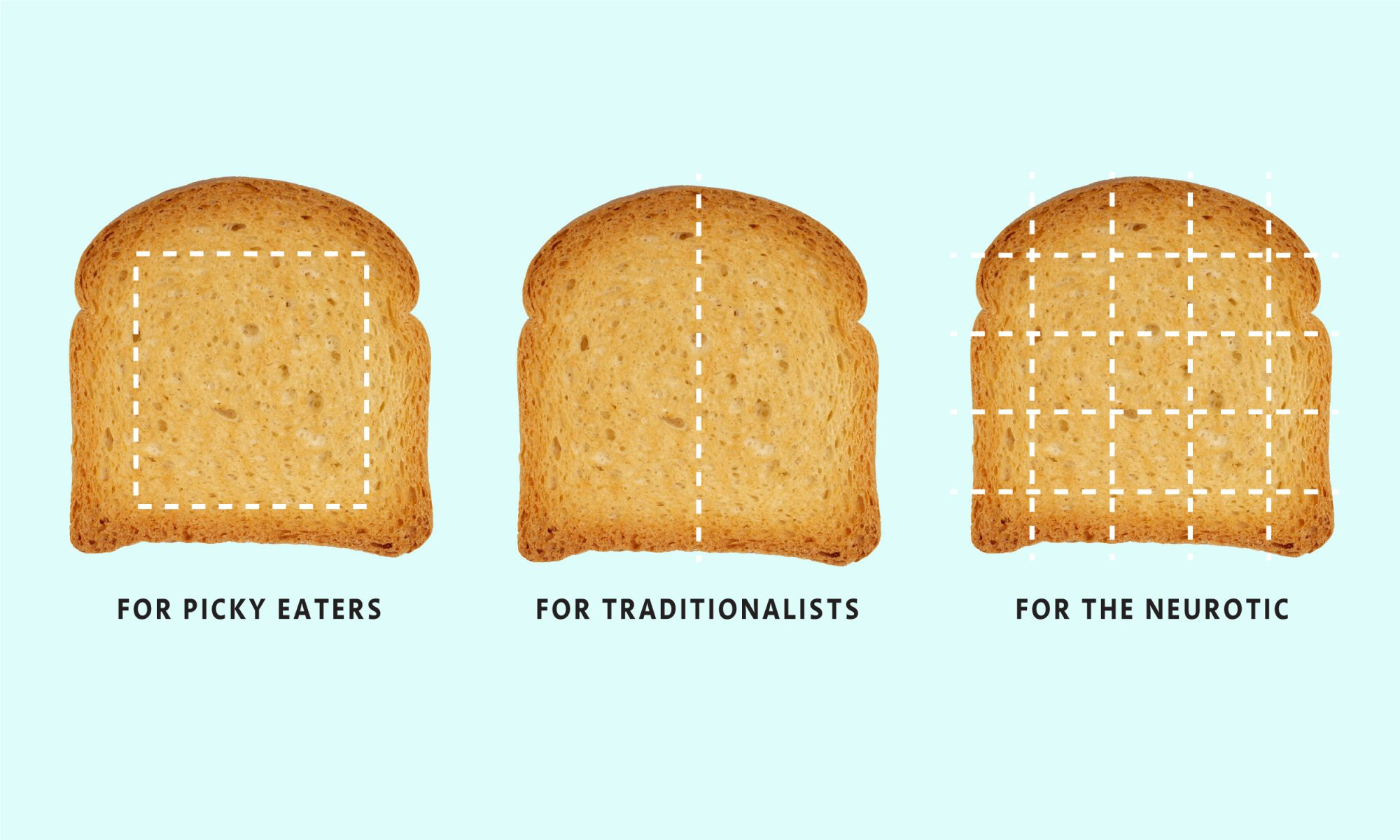EC: What Your Toast-Cutting Method Says About You