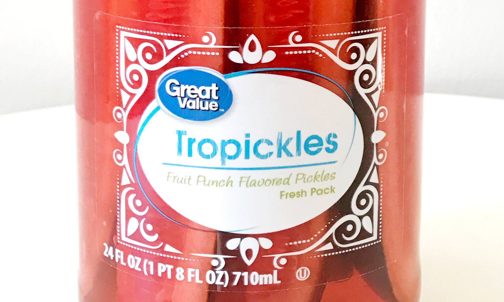 Walmart fruit punch pickles