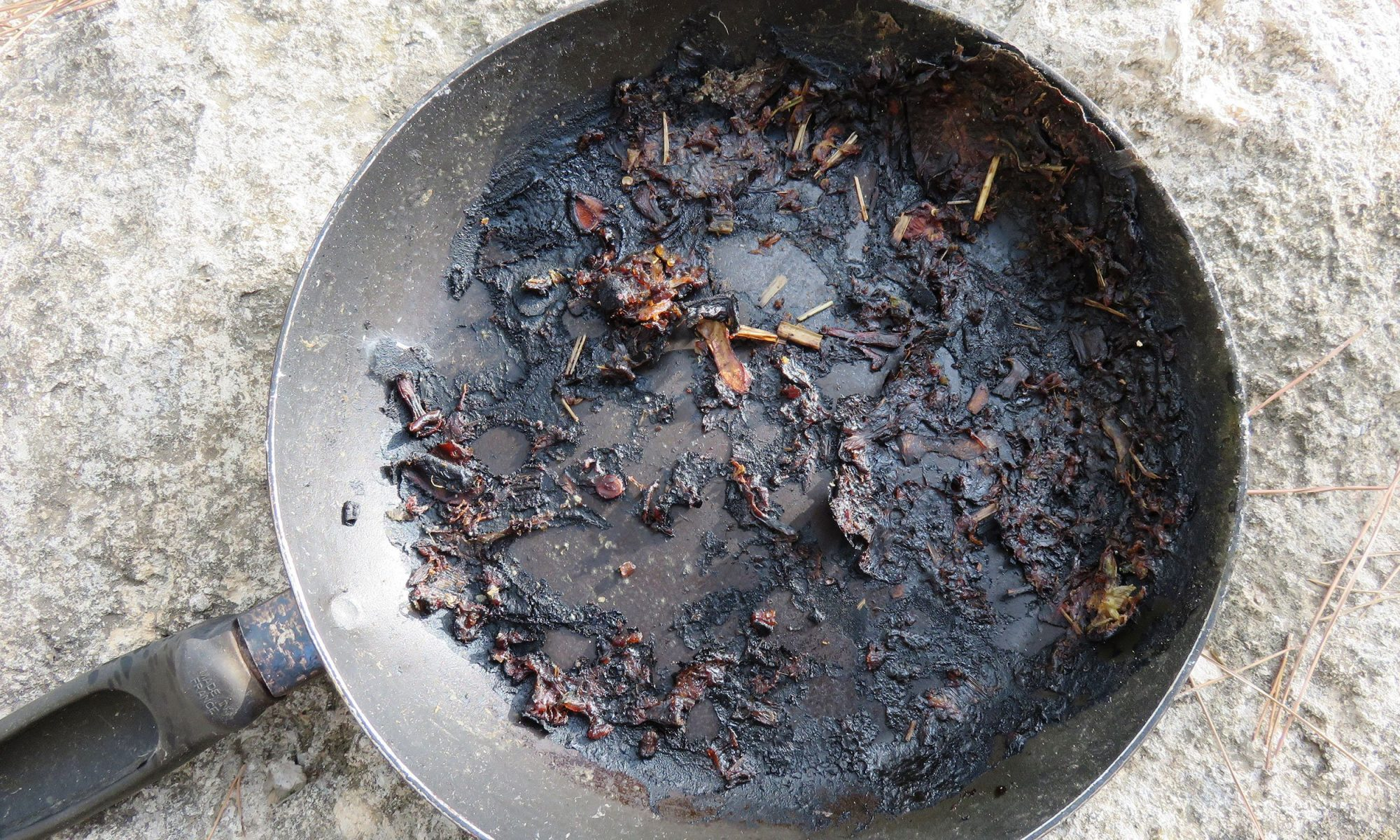 EC: How to Clean a Burnt Pan